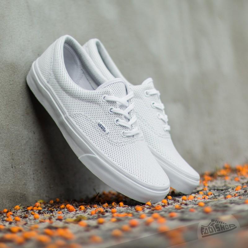 d519503198 Vans Era Perf Leather True White
