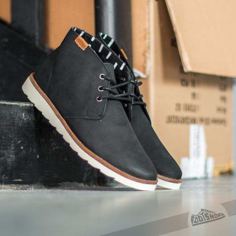 shoes Vans Desert Chukka Leather Black