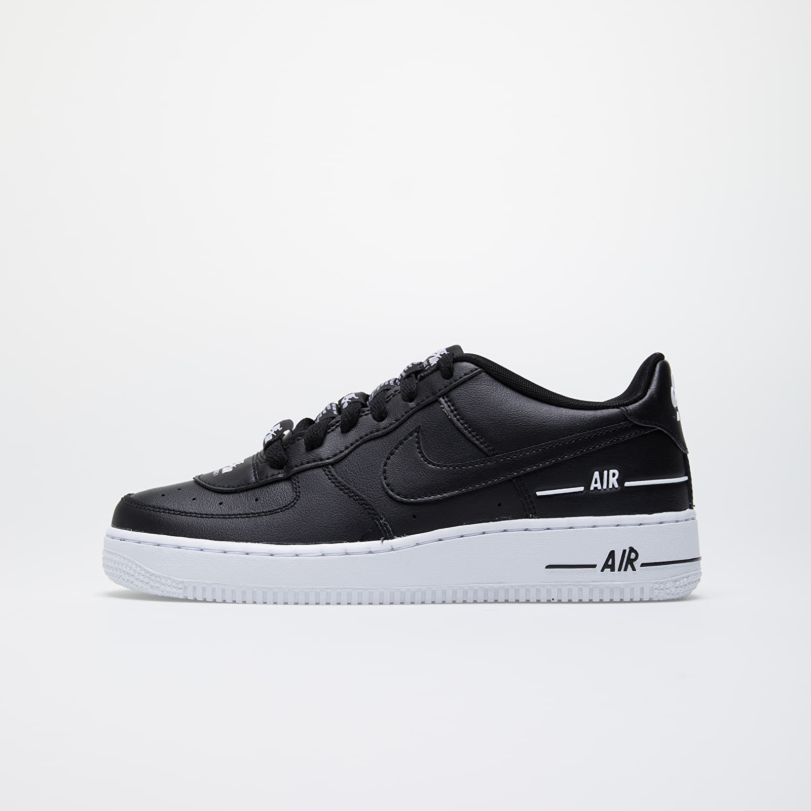 Zapatillas de niño Nike Air Force 1 LV8 3 (GS) Black/ Black-White