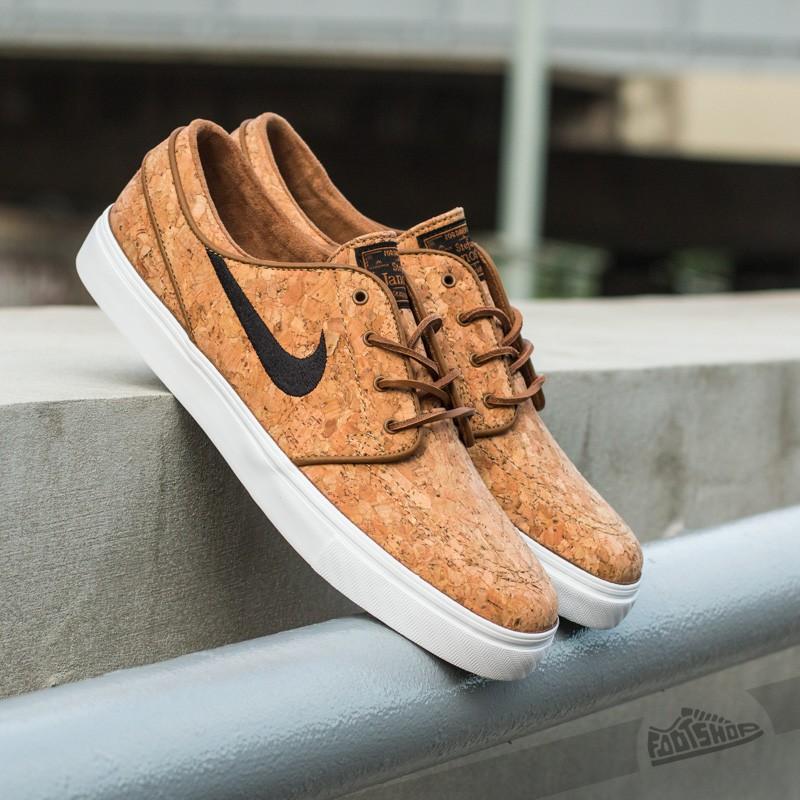6fad3e0a2b8 Nike Zoom Stefan Janoski Elite Ale Brown Black-White