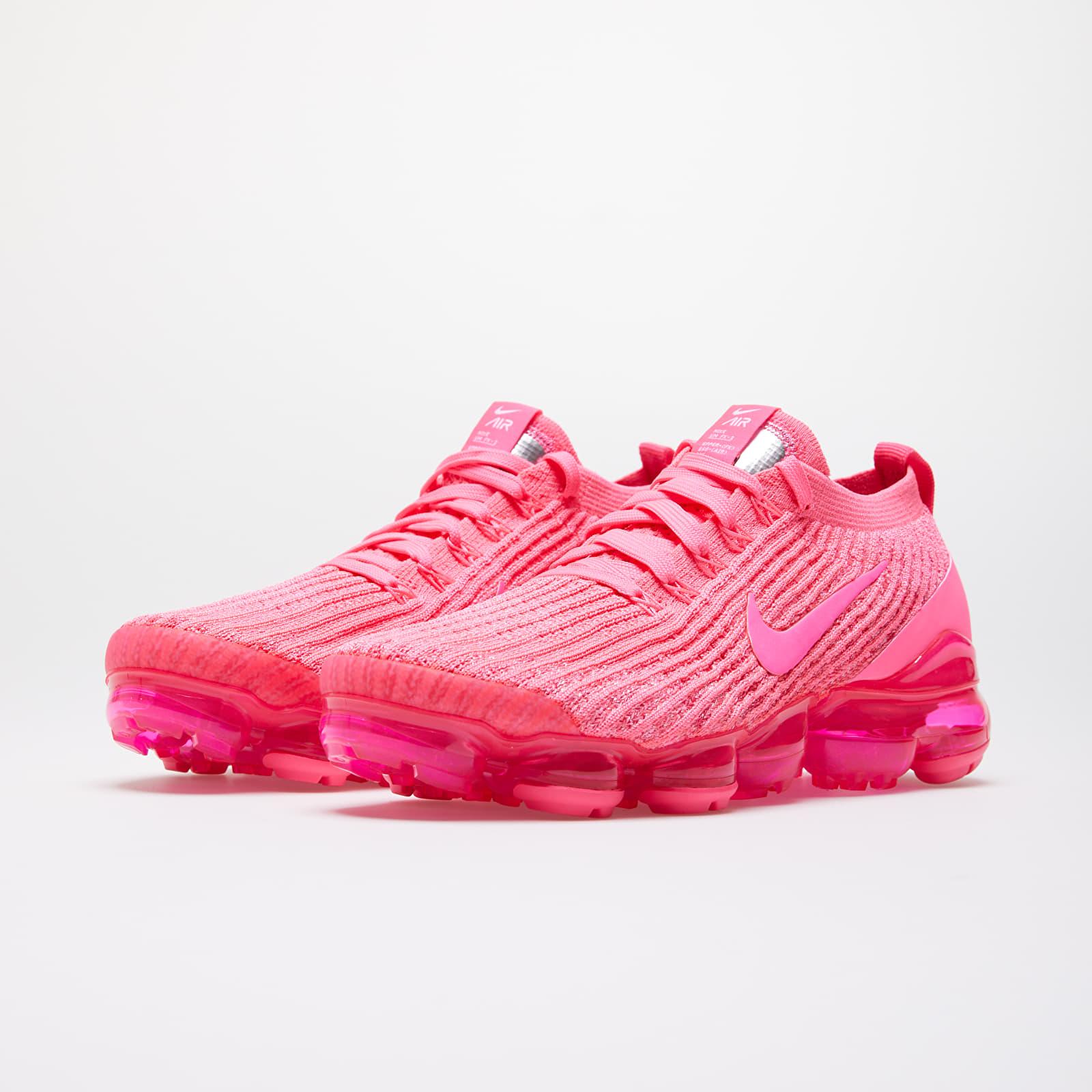 nike pink vapormax flyknit