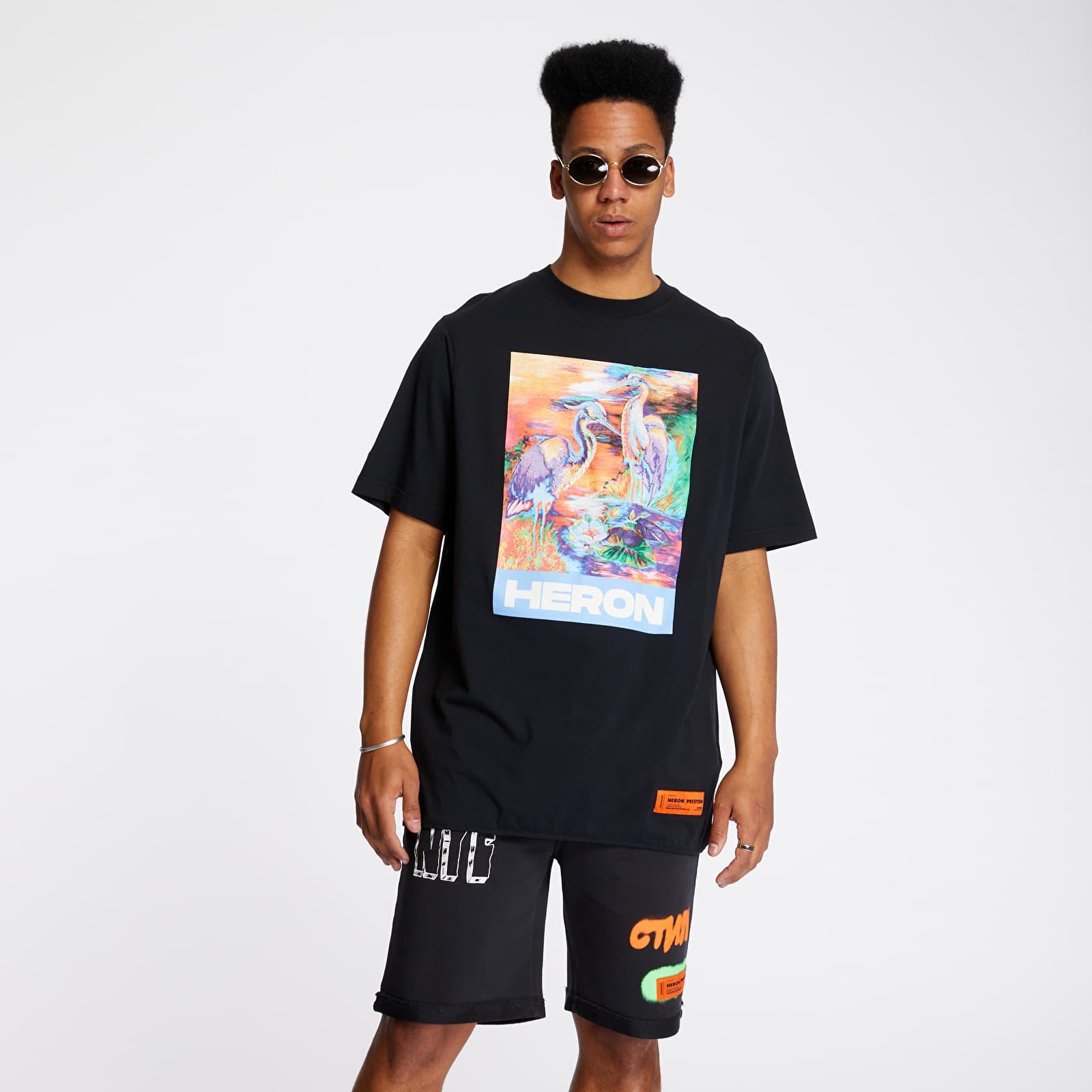 T-shirts HERON PRESTON Over Tee Black