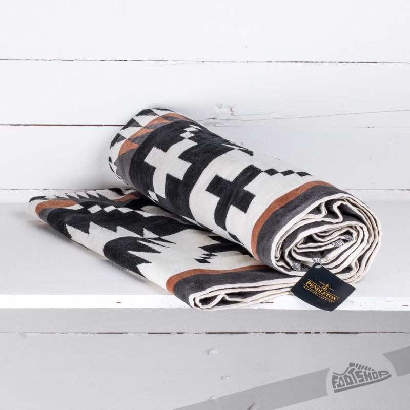 Pendleton Spider Rock Jacquard Beach Towel Black/ White za skvělou cenu 2 090 Kč koupíte na Footshop.cz