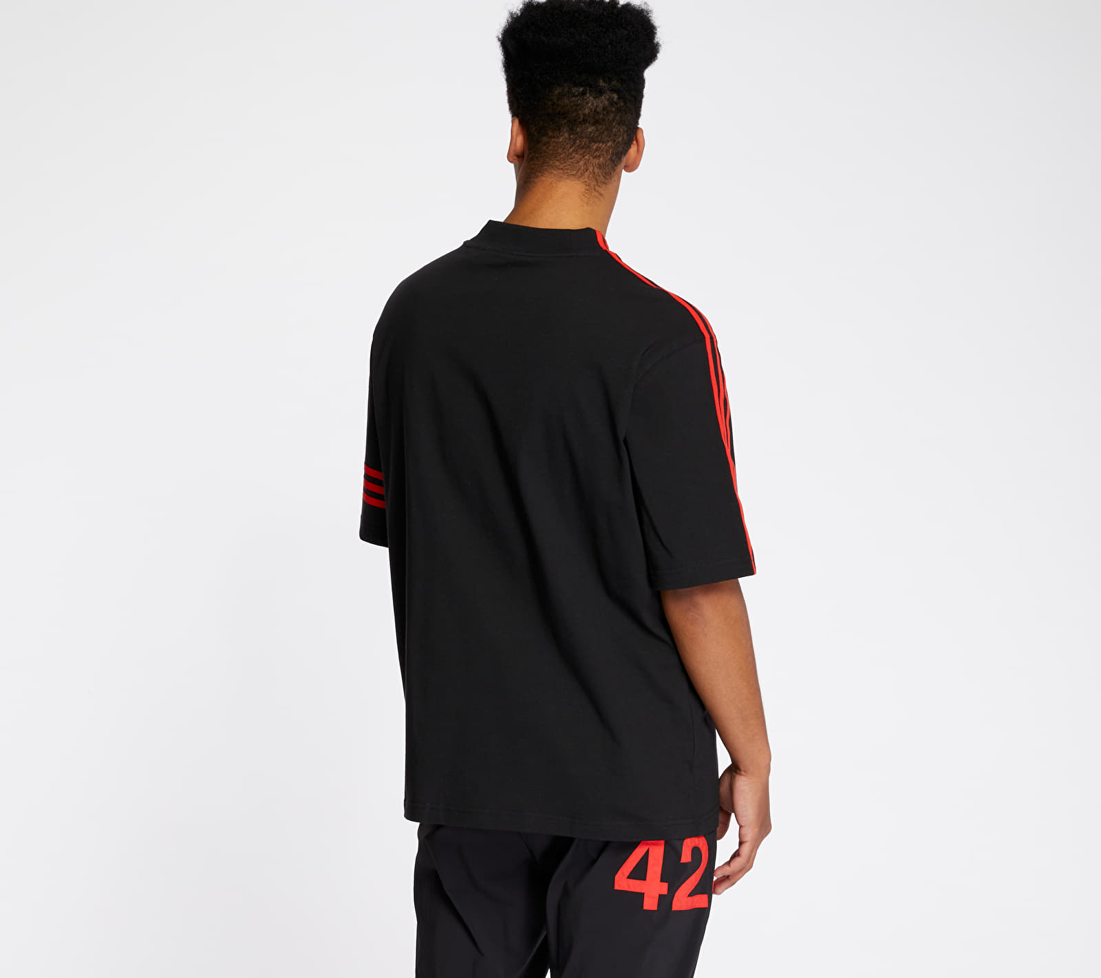 adidas x 424 Vocal Tee Black/ Red
