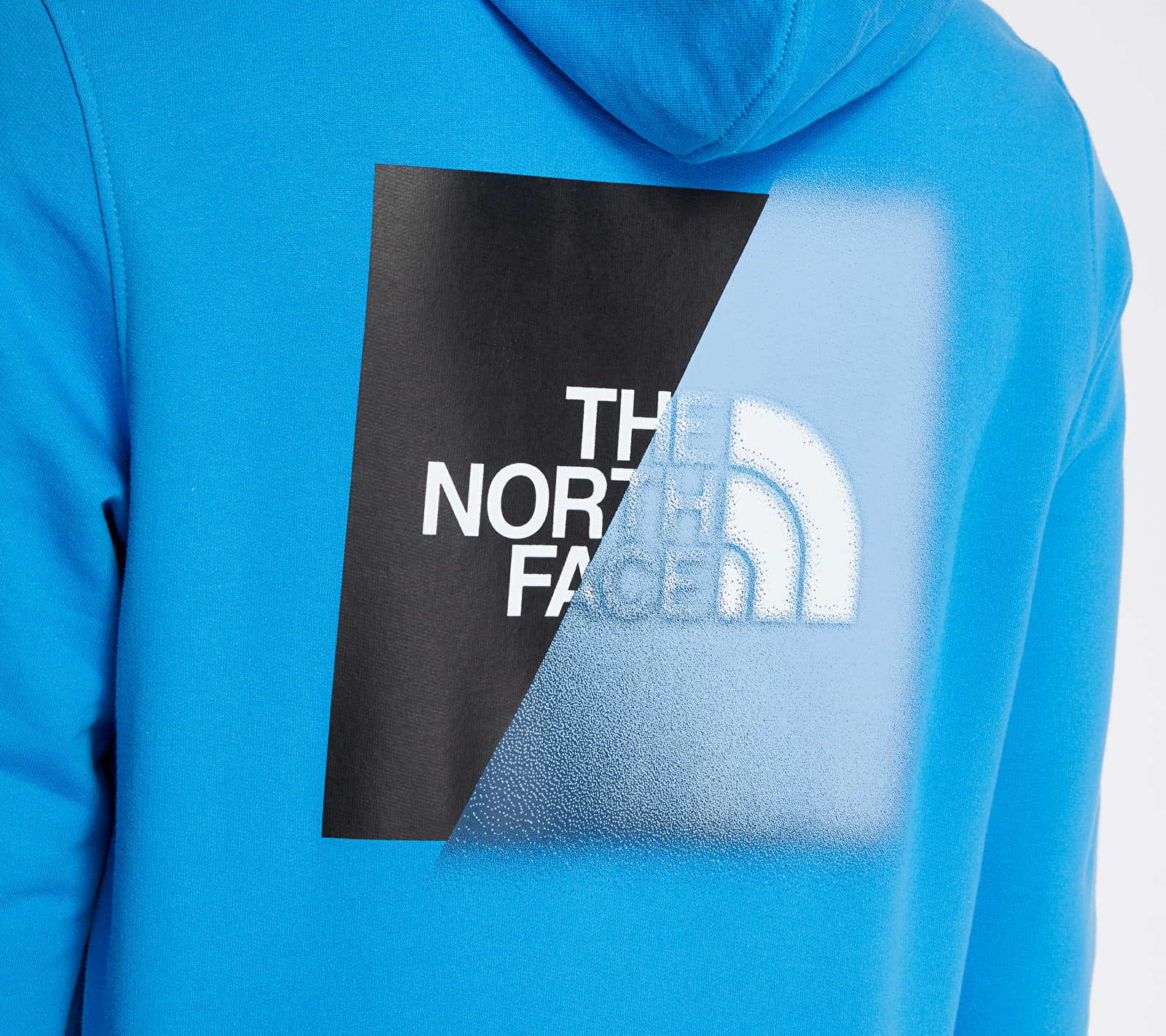 The North Face Graphic Hoodie Clear Lake Blue/ Black