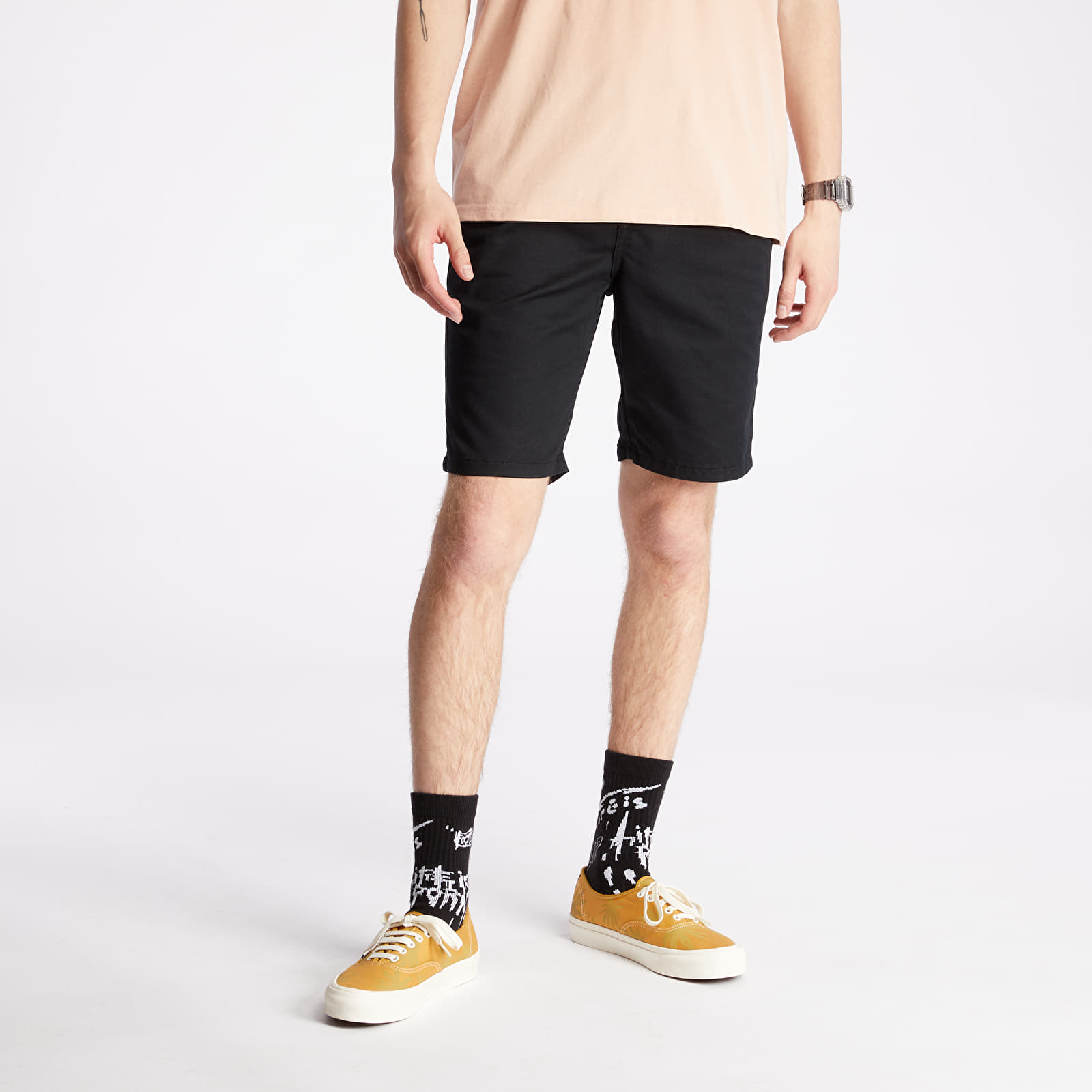 Kratke hlače Vans Authentic Stretch Shorts Black