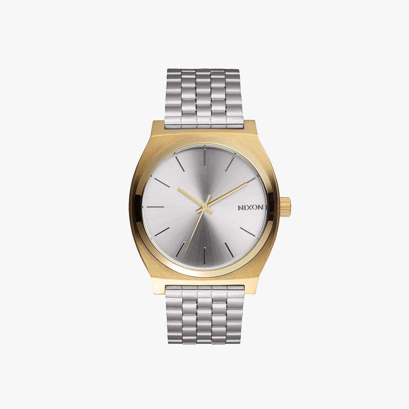 Hodinky Nixon Time Teller Gold/ Silver/ Silver