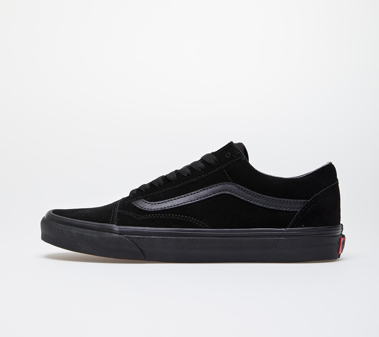 Vans Old Skool (Suede) Black/ Black/ Black EUR 35