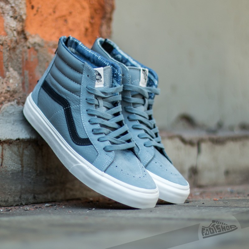 8cad4398f615a4 Vans Sk8-Hi Zip California Leather  Nubuck Lead