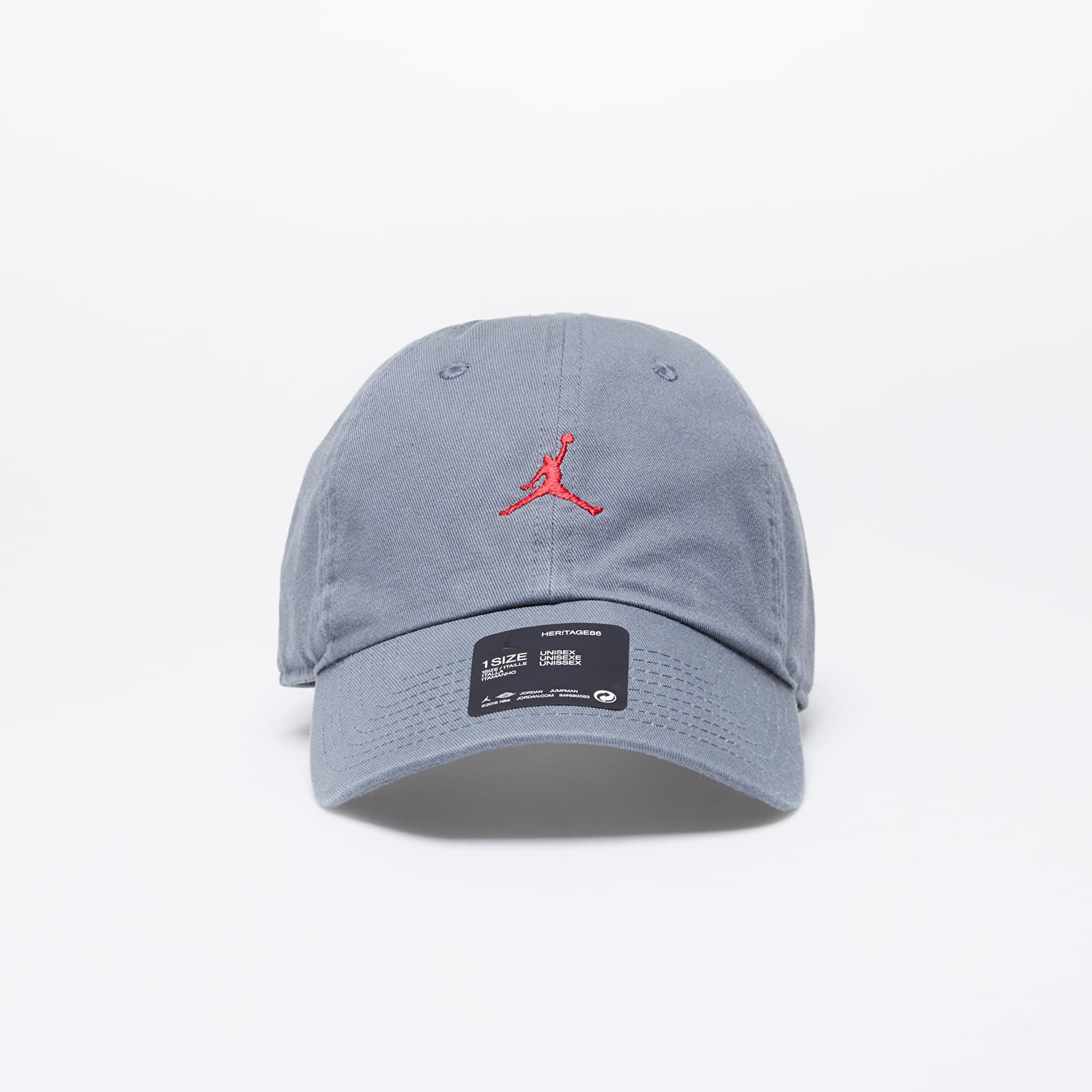 Caps Jordan H86 Jumpman Floppy Cap Smoke Grey/ Gym Red