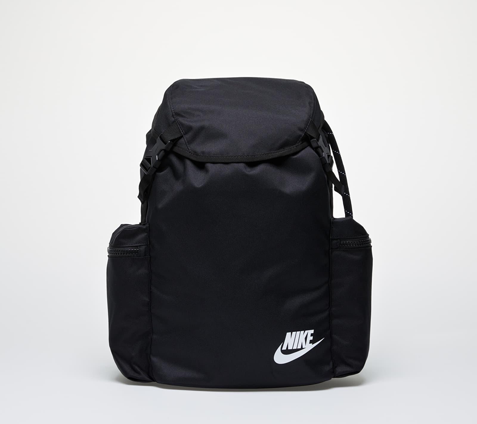 Nike Heritage Rucksack Black/ Black/ White 24 litrov