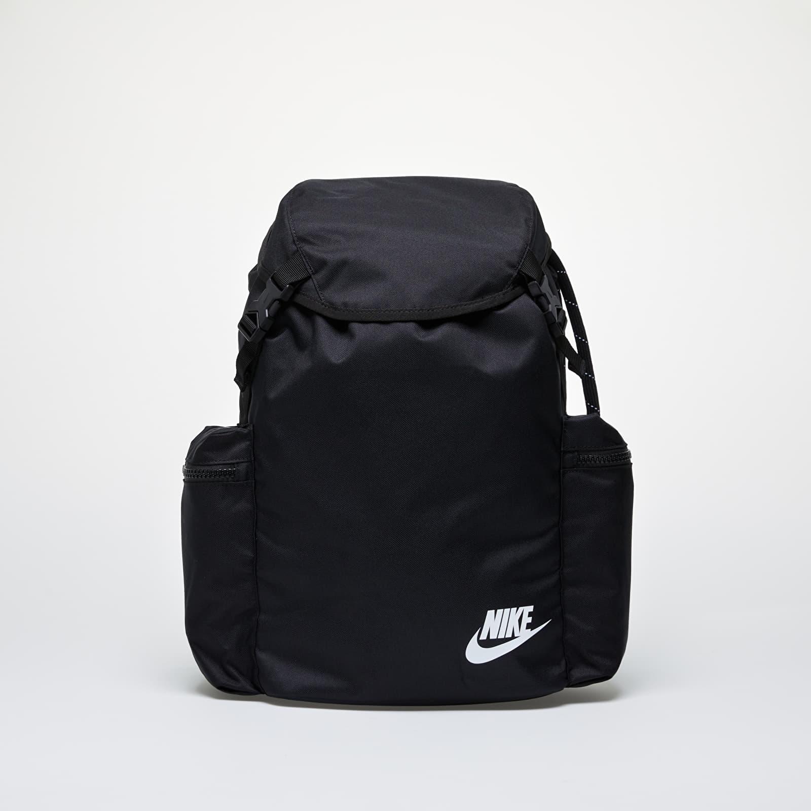 Batohy Nike Heritage Rucksack Black/ Black/ White