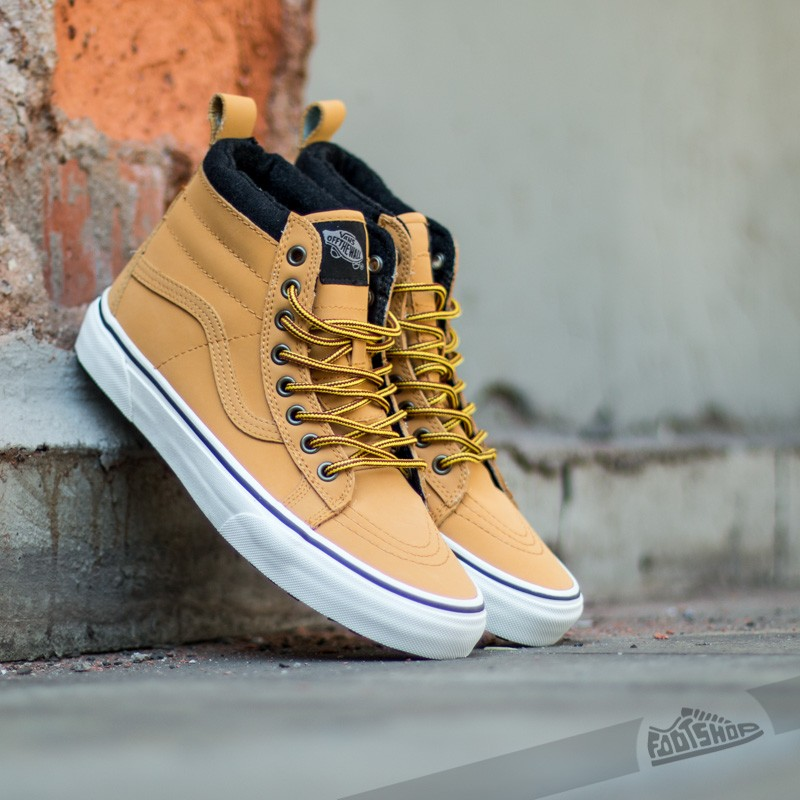 e101b6b9dd Vans Sk8-Hi MTE Honey/ Leather | Footshop