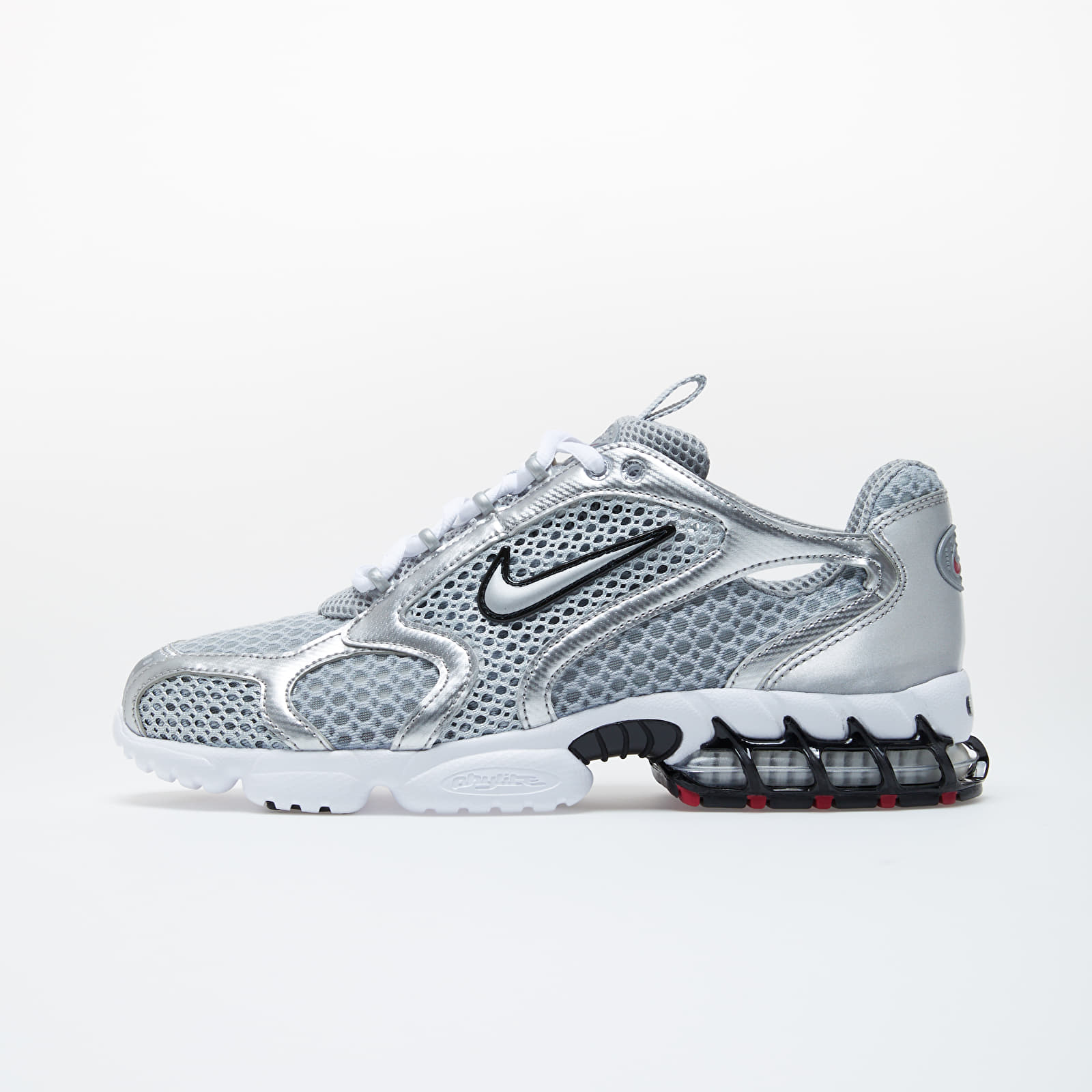 Pánské tenisky a boty Nike Air Zoom Spiridon Cage 2 Lt Smoke Grey/ Metallic Silver