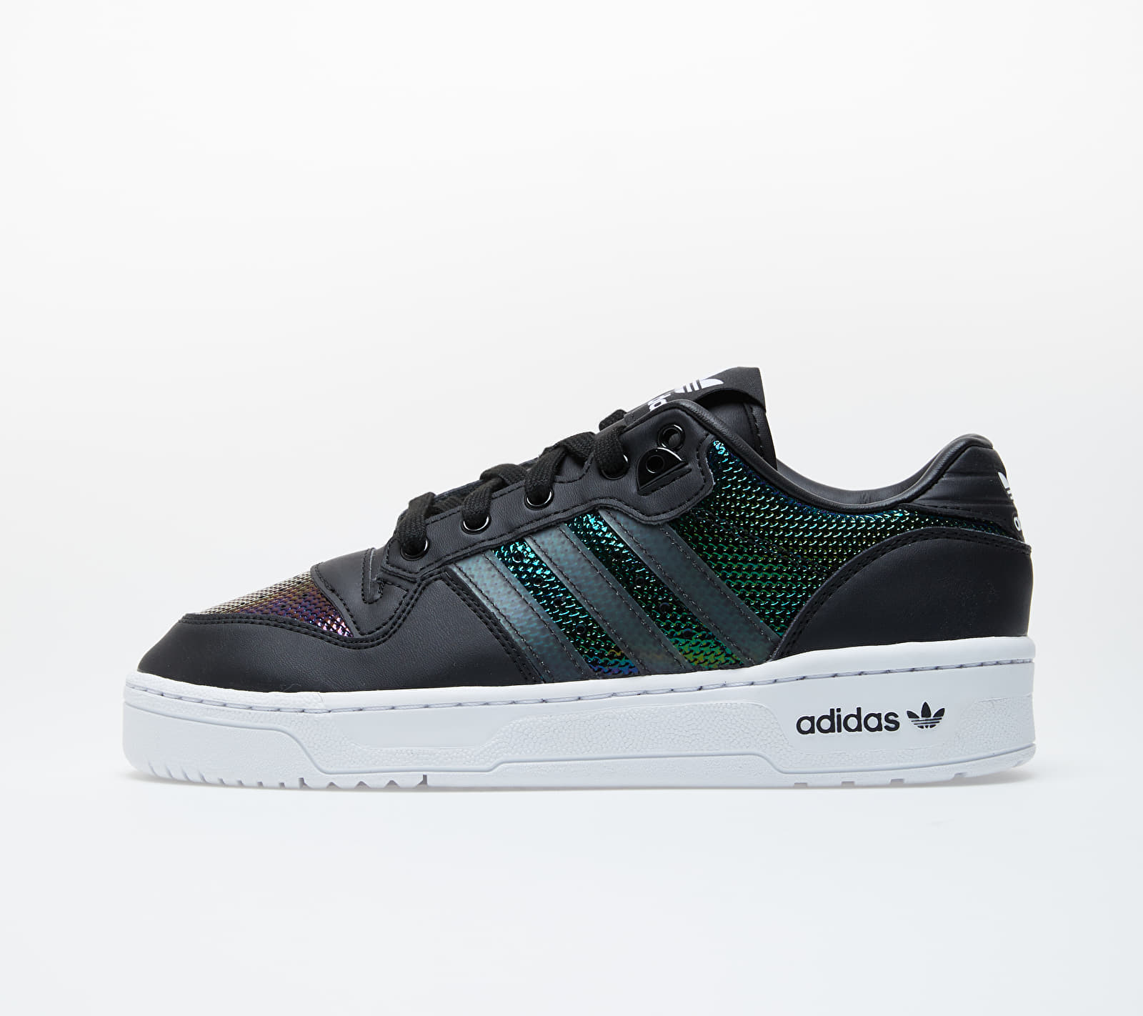 adidas Rivalry Low W Core Black/ Ftw White/ Mystery Ruby 1