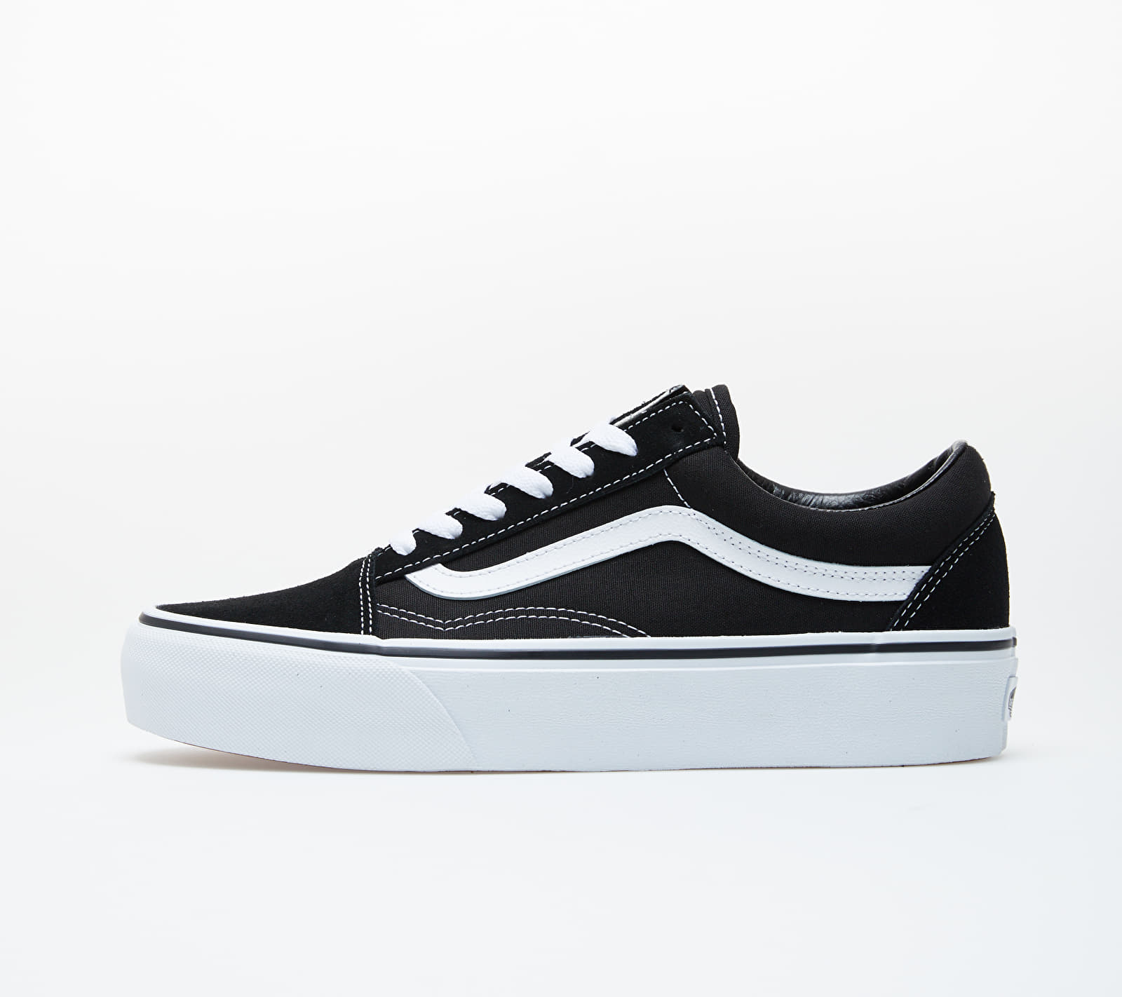 Vans Old Skool Platform Black/ White EUR 38.5