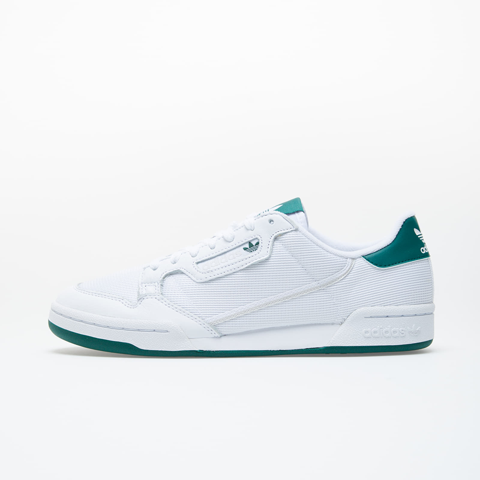 Men's shoes adidas Continental 80 Ftw White/ Grey One/ Core Green