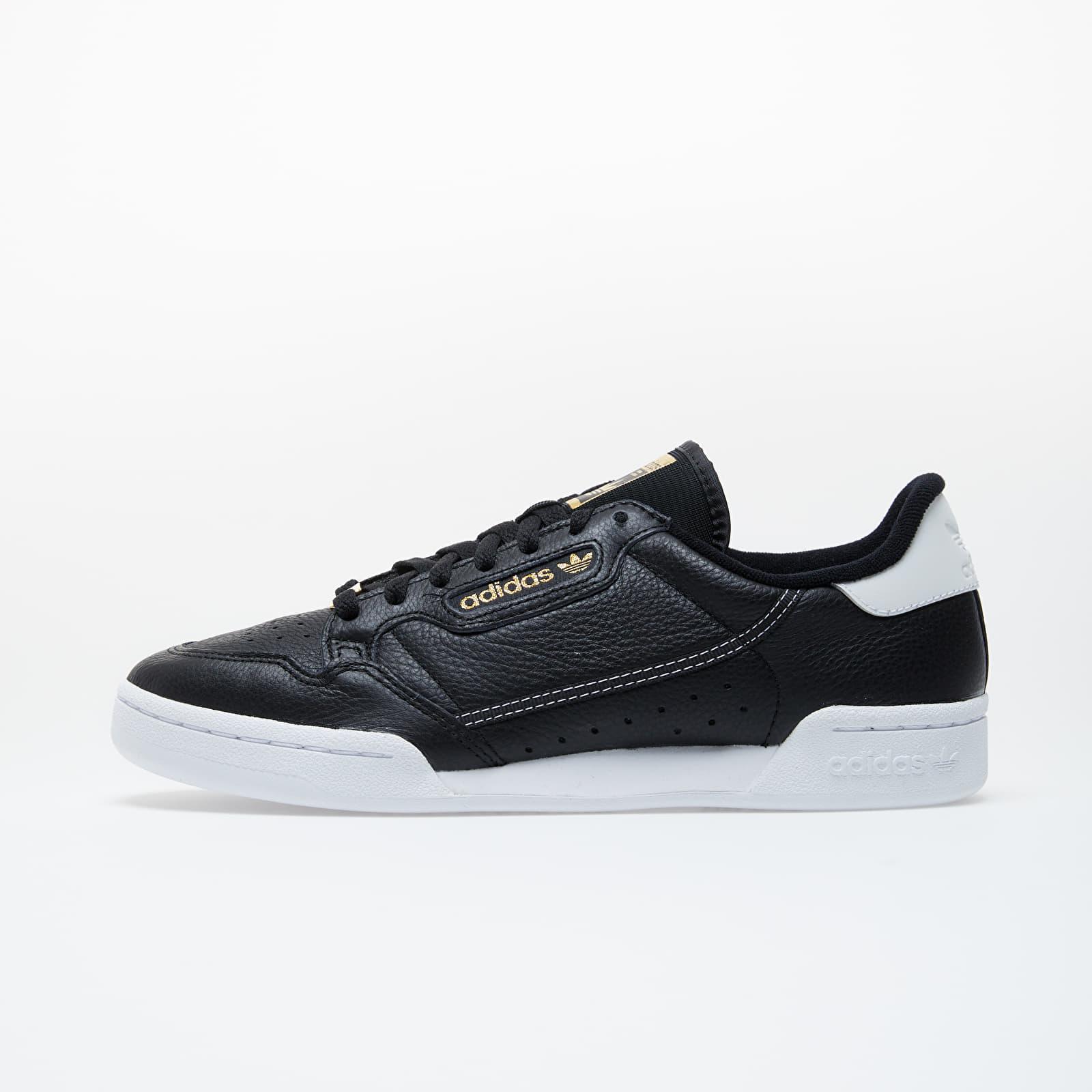 Pánské tenisky a boty adidas Continental 80 Core Black/ Core Black/ Ftw White
