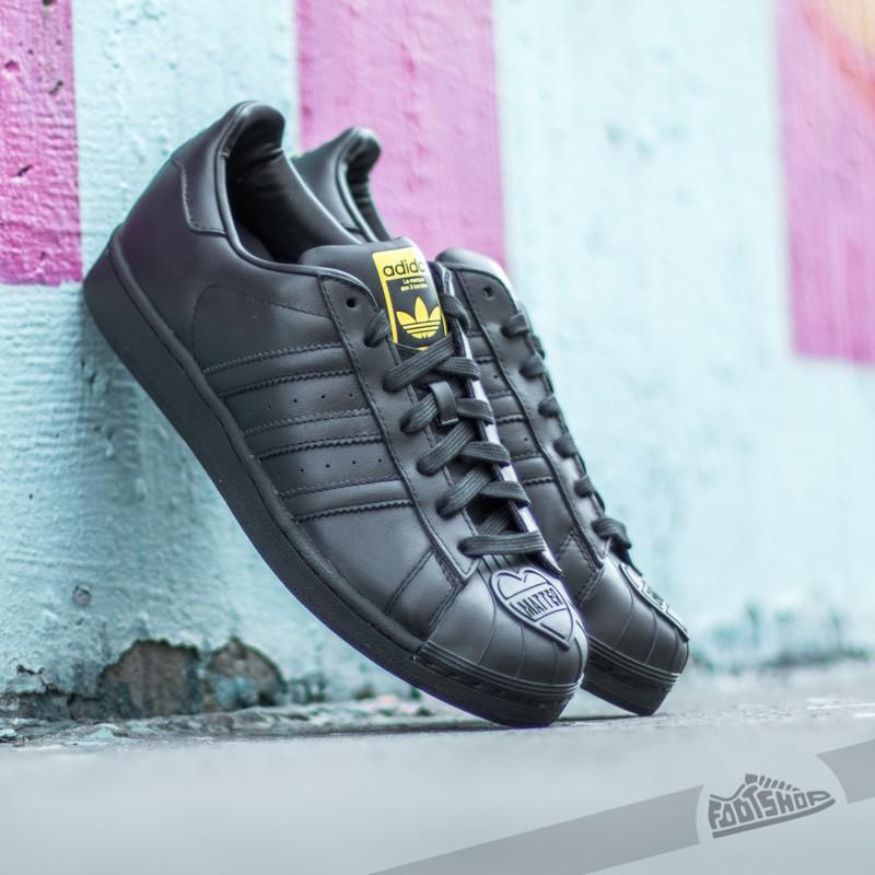 huge discount f5259 285d3 adidas Superstar Pharrell Supershell Carbon Black  Yellow