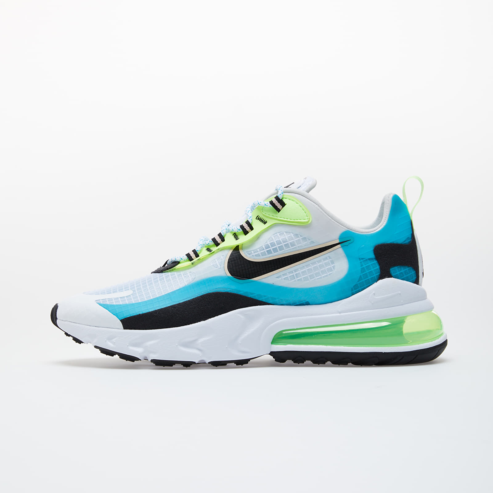 Încălțăminte pentru el Nike Air Max 270 React SE Oracle Aqua/ Black-Ghost Green