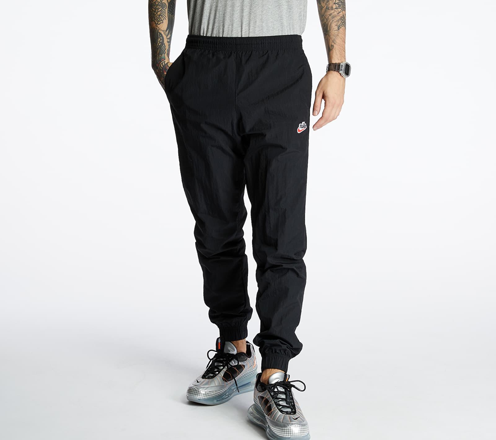 Nike Sportswear Heritage Woven Signature Pants Black/ Black/ Black