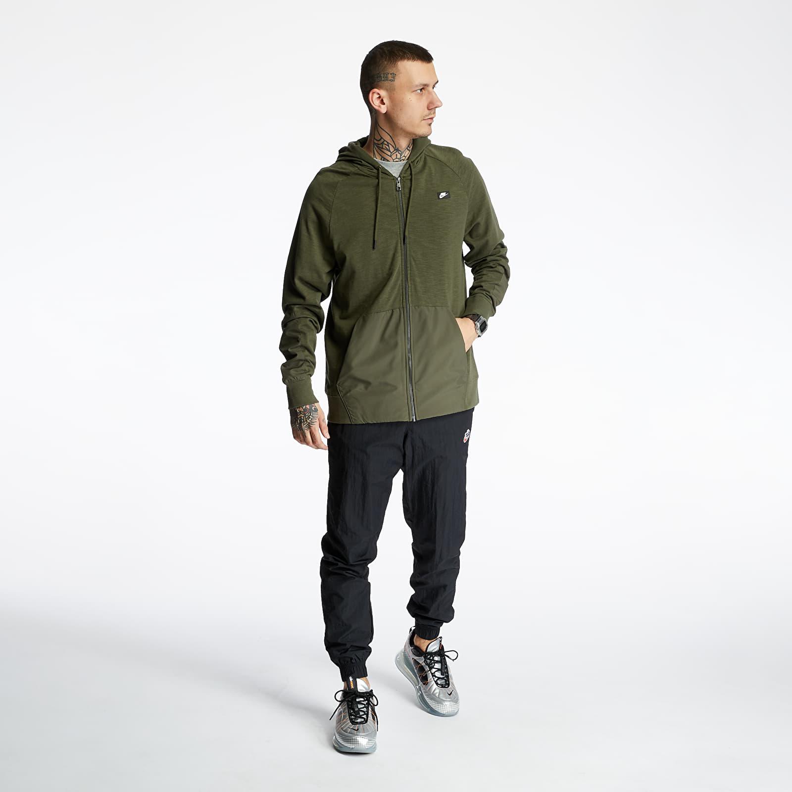 Mikiny a svetry Nike Sportswear Me Mix Hoodie Cargo Khaki/ Cargo Khaki/ Black Oxidized