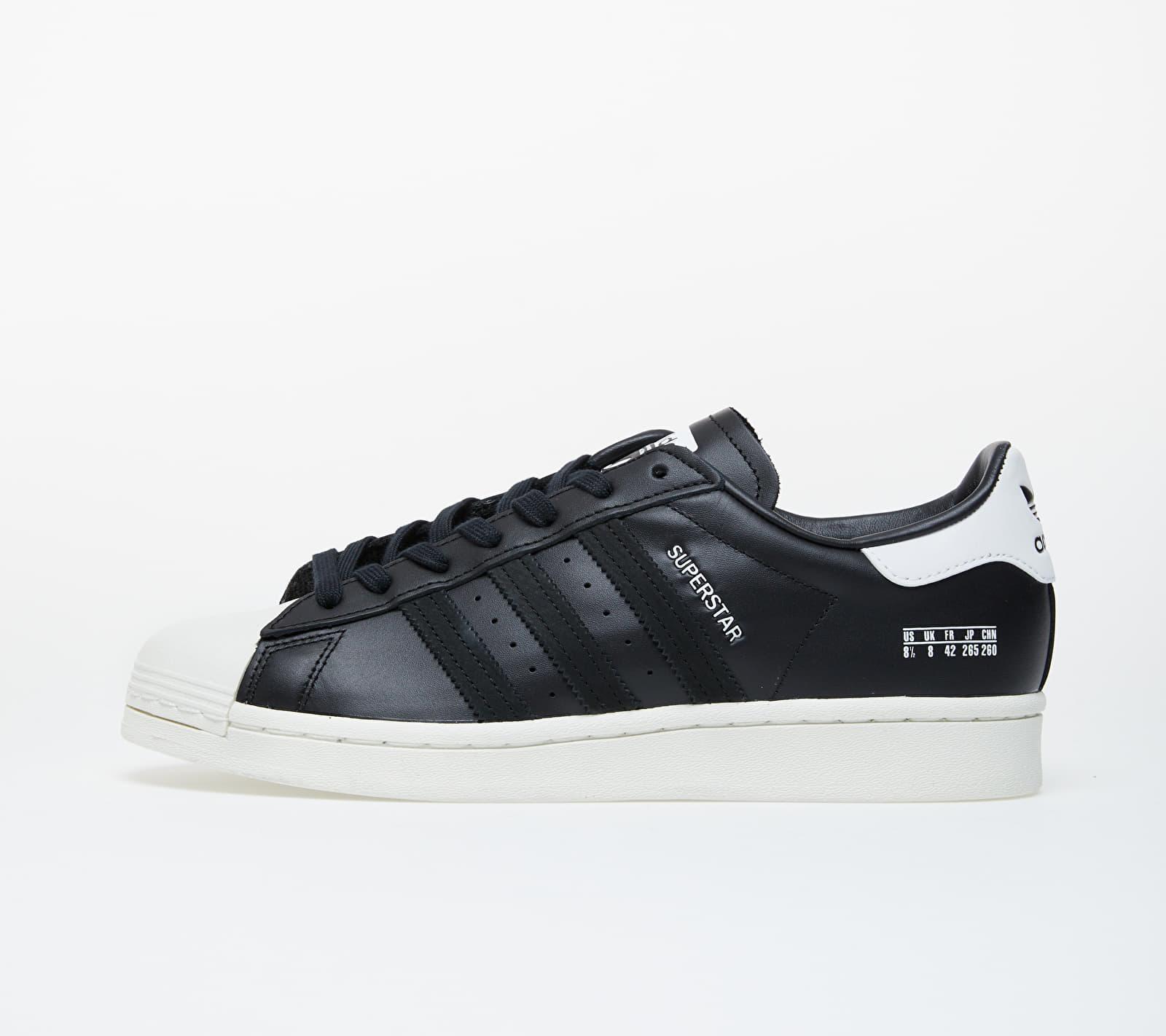 adidas Superstar Core Black/ Core Black/ Off White EUR 42 2/3