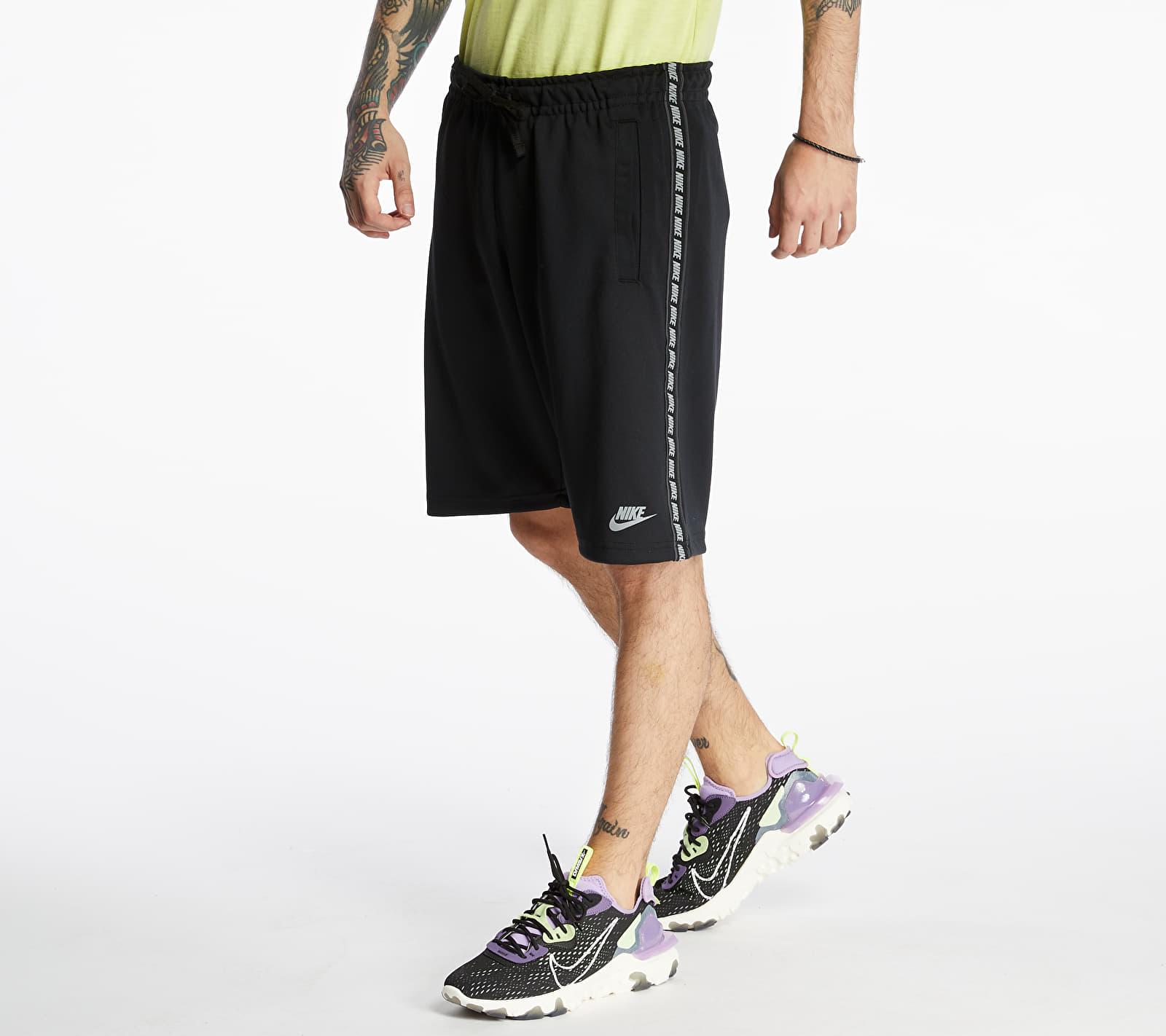 Nike Sportswear Repeat Poly Shorts Black/ Reflective Silv