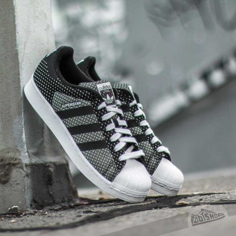 on sale 139e5 ac681 adidas Superstar Weave Pack Black  Black  White