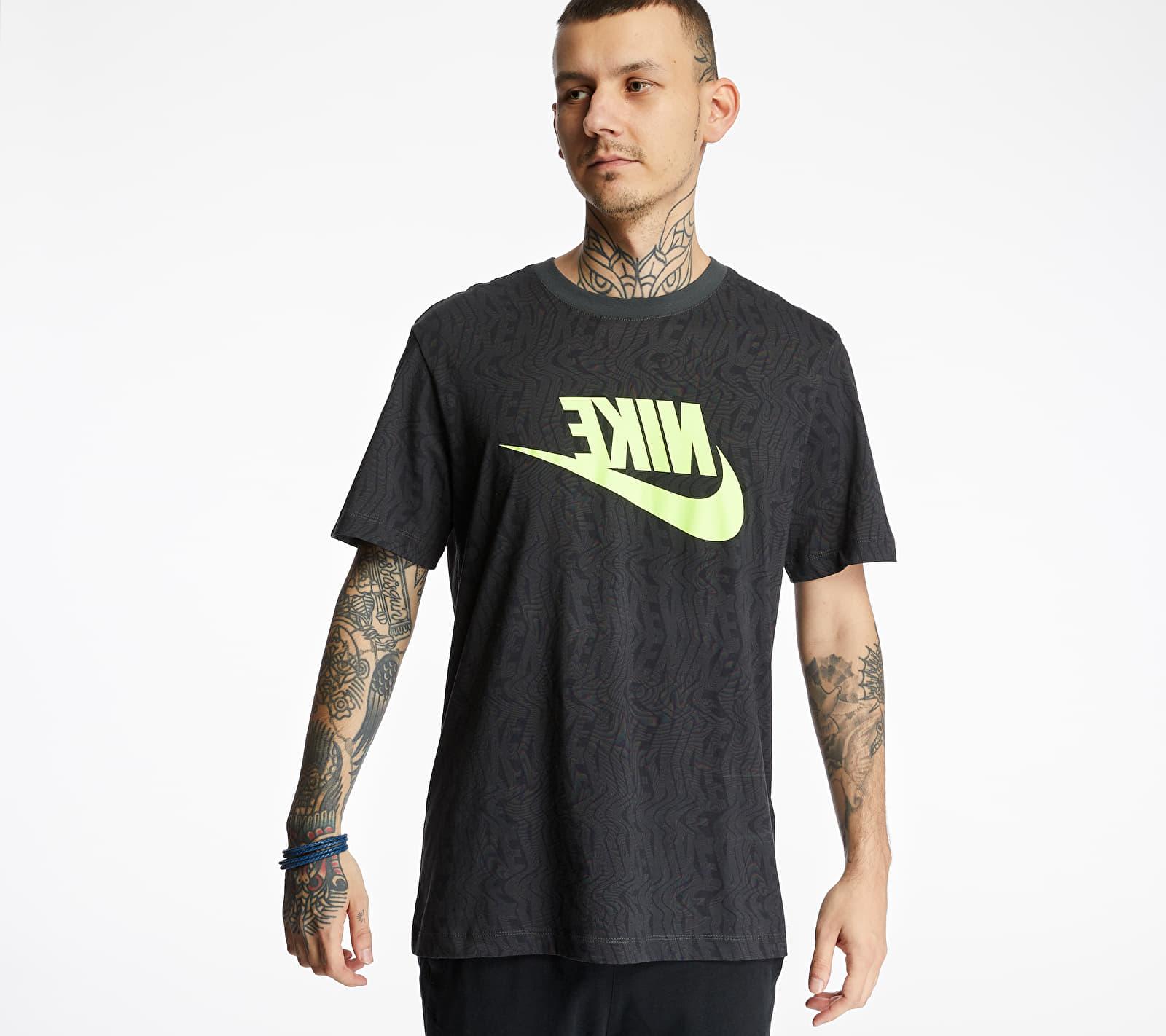 Nike Sportswear Festival Tee Dk Smoke Grey/ Volt, Gray