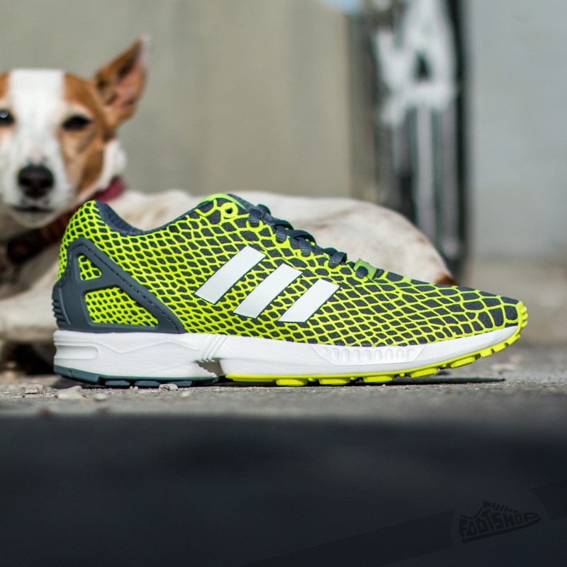 1044a325a adidas Zx Flux Techfit Solar Yellow  Ftw White  Onix at a great price 62