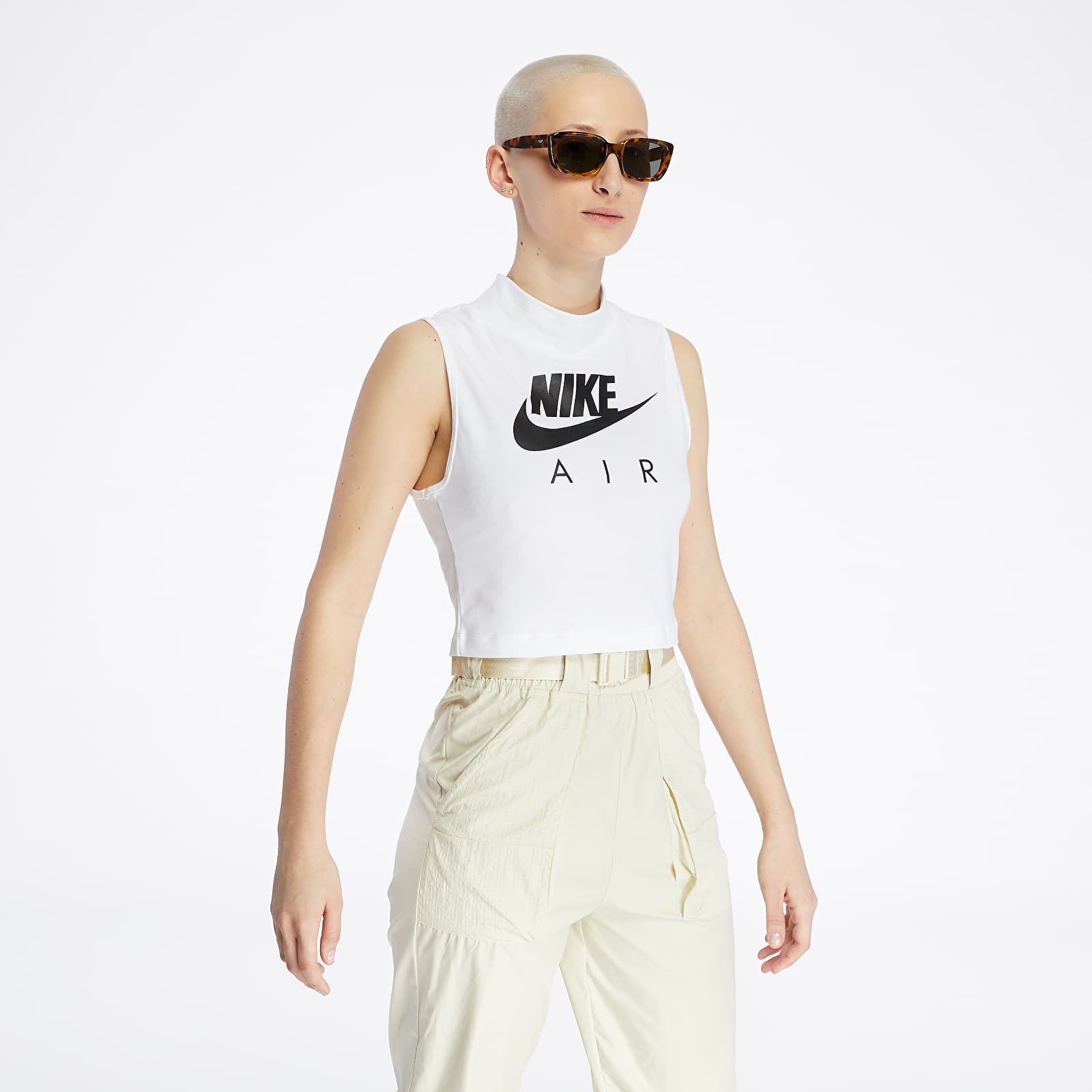 Tílka Nike Sportswear Air Mock Tank White/ Black