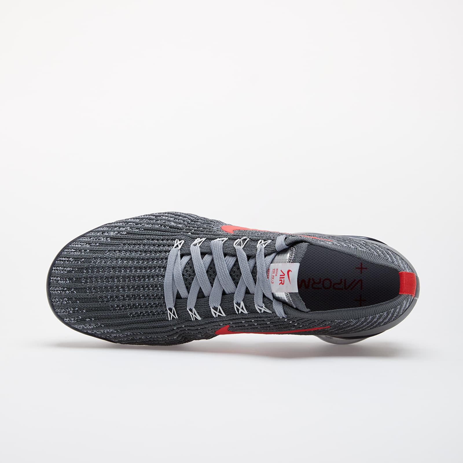 Adición muñeca Definición  Men's shoes Nike Air Vapormax Flyknit 3 Iron Grey/ Track Red-Particle Grey  | Footshop