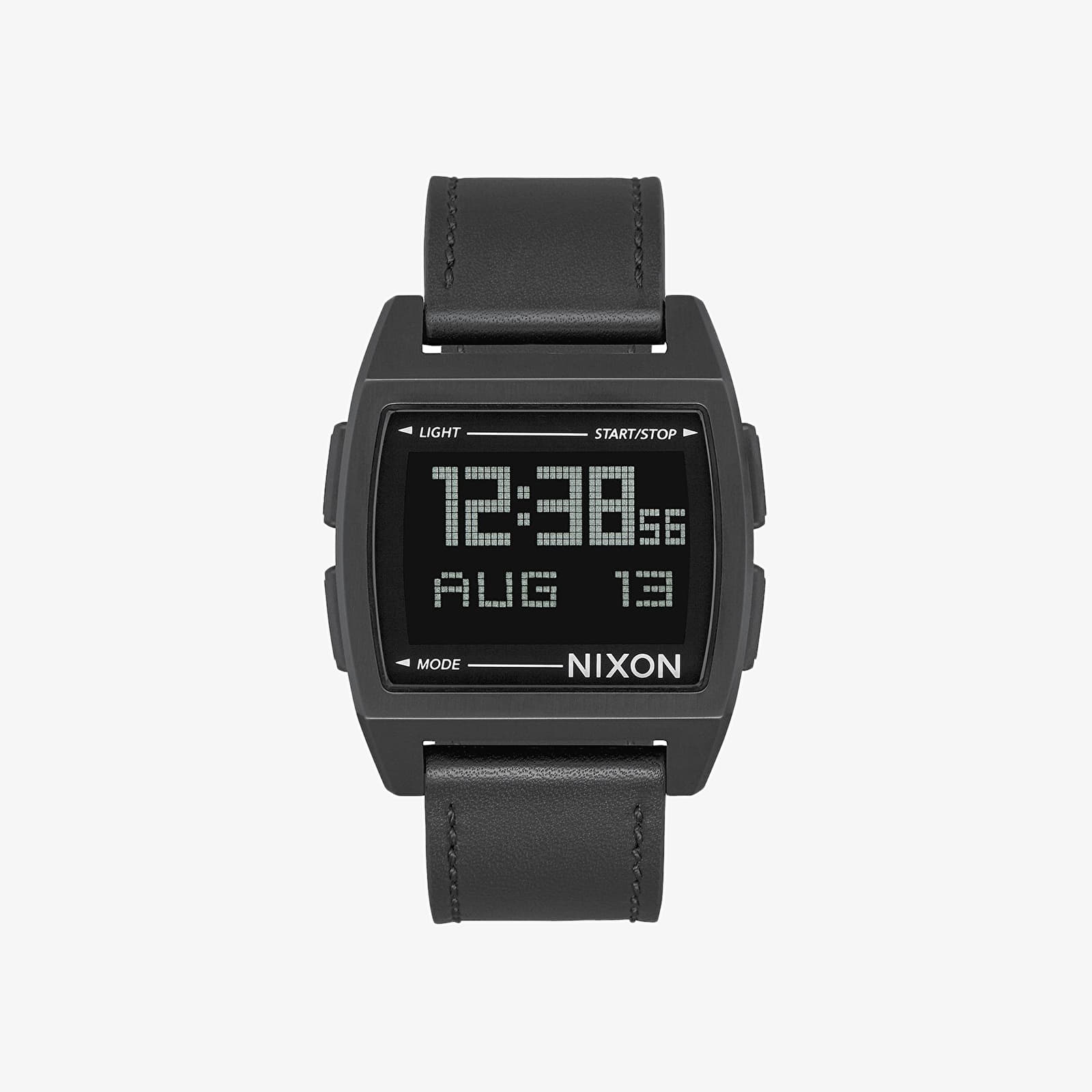 Montres Nixon Base Leather Watch All Black