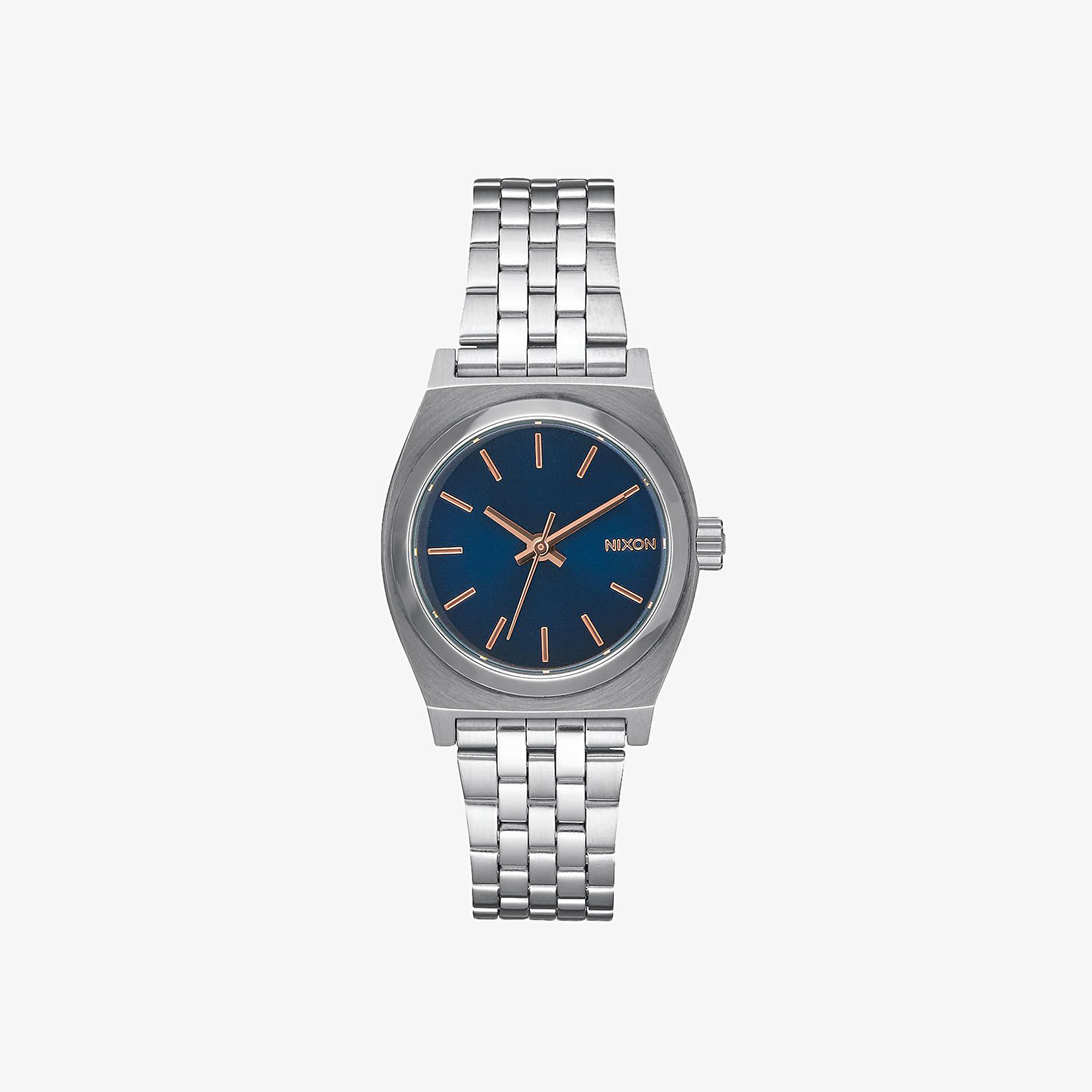 Hodinky Nixon Small Time Teller Watch Navy/ Rose Gold