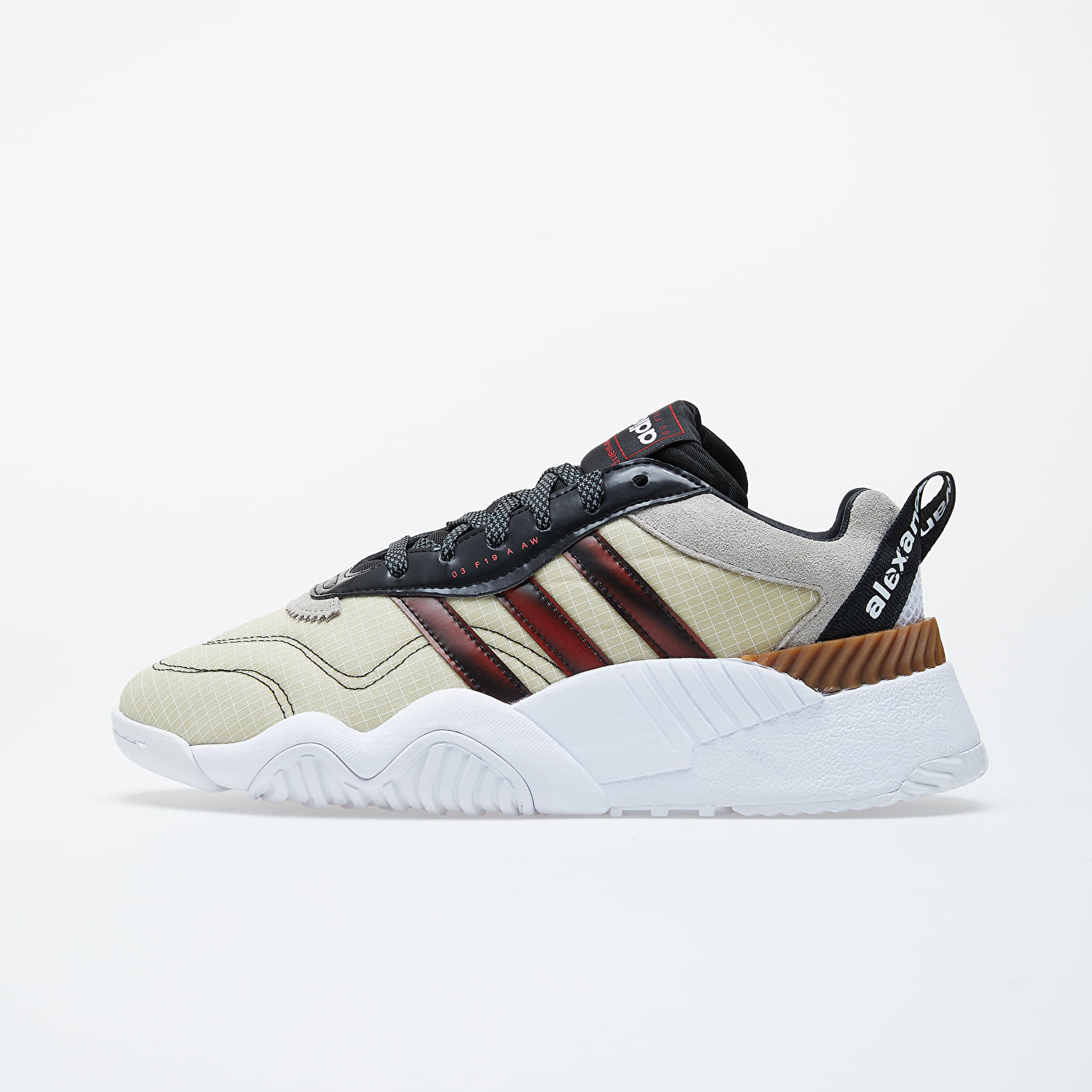 Pánské tenisky a boty adidas x Alexander Wang Turnout Trainer Core Black/ Light Brown/ Bright Red