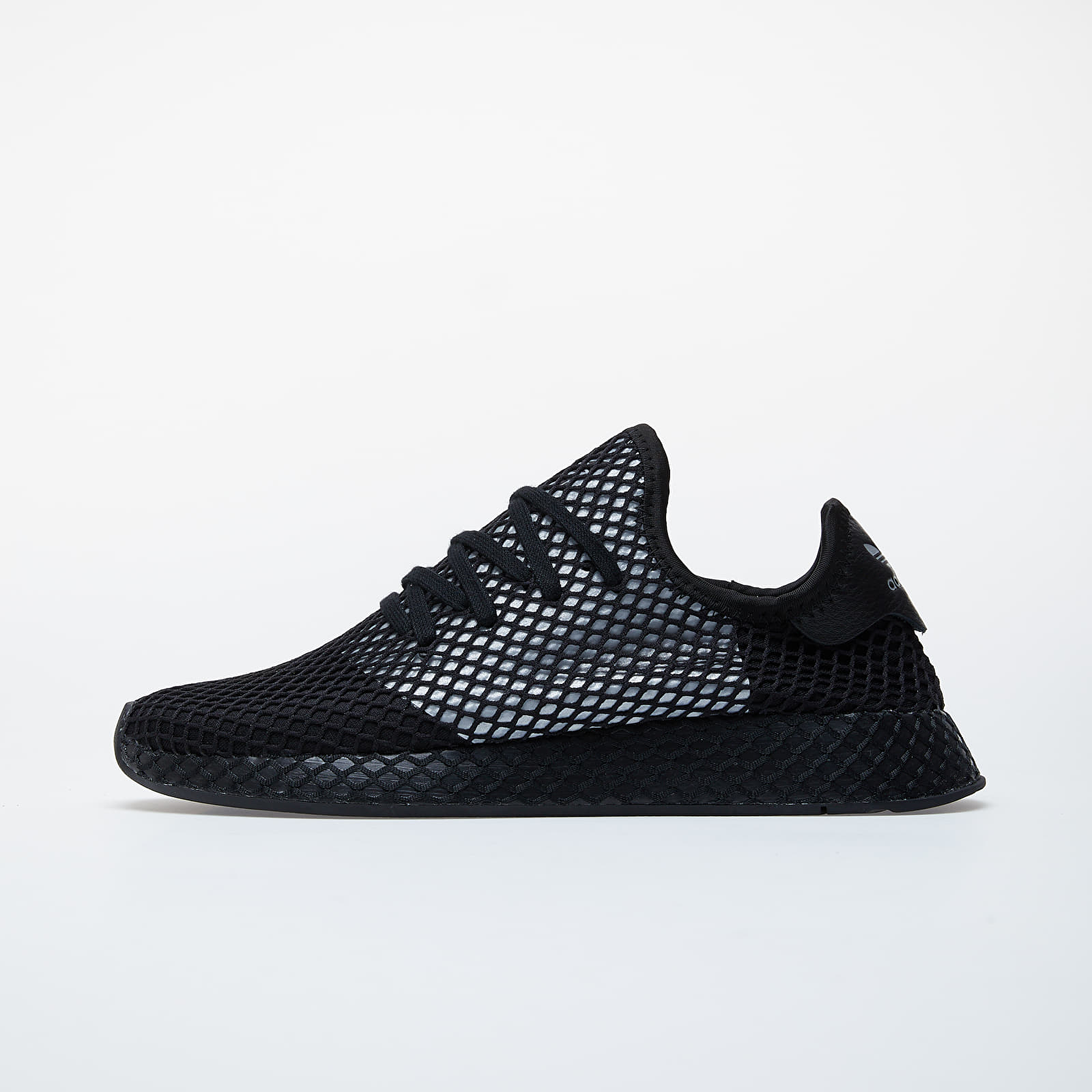 Мужская обувь adidas Deerupt Runner Core Black/ Silver Metalic/ Core Black