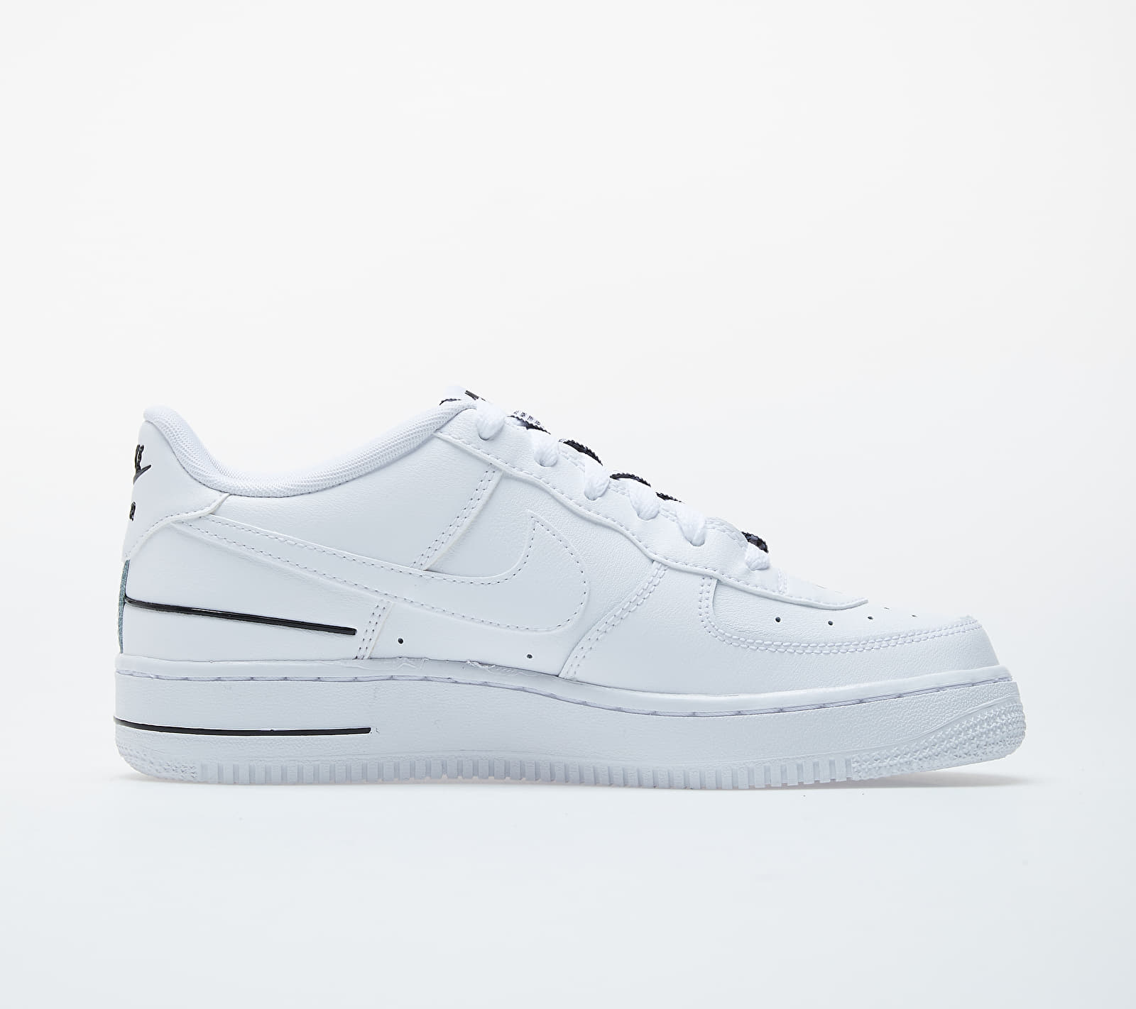 Nike Air Force 1 LV8 3 (GS) White/ White-Black