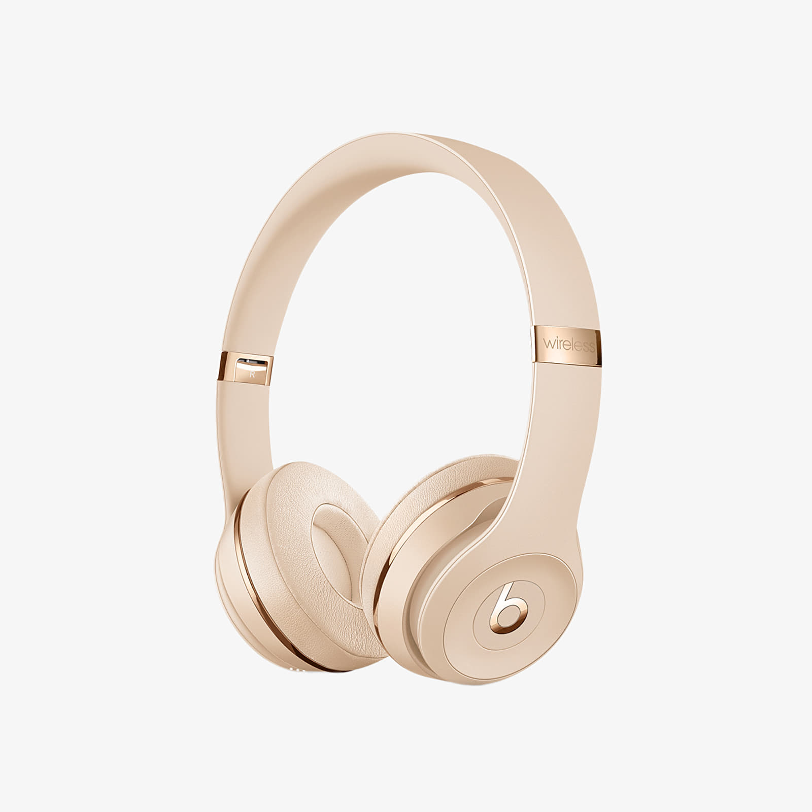 Fülhallgatók Beats Solo3 Wireless On-Ear Satin Gold