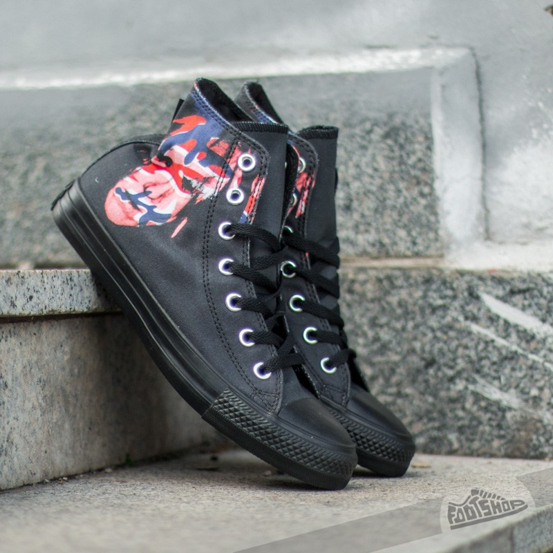 erupción traje Banquete  Women's shoes Converse CT Warhol Hi Black/ Red/ Blue