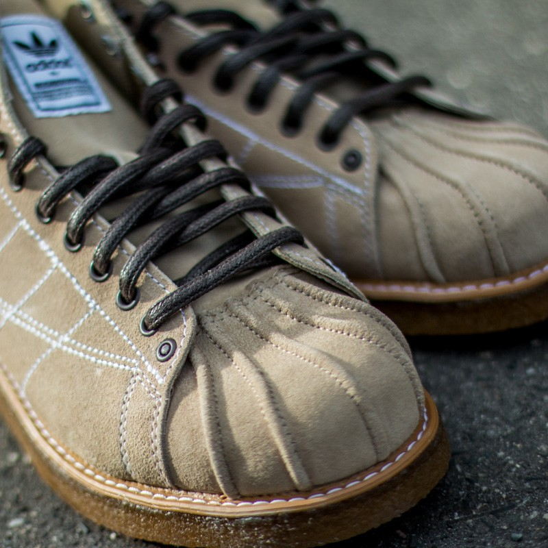 adidas Neighborhood Shelltoe Boots Hemp Ftw White Gum3