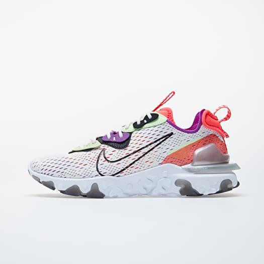 Nike React Vision Summit White Black Barely Volt | Footshop