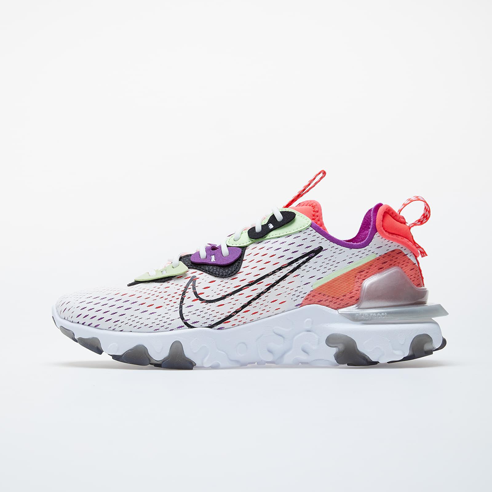 Pánské tenisky a boty Nike React Vision Summit White/ Black-Barely Volt