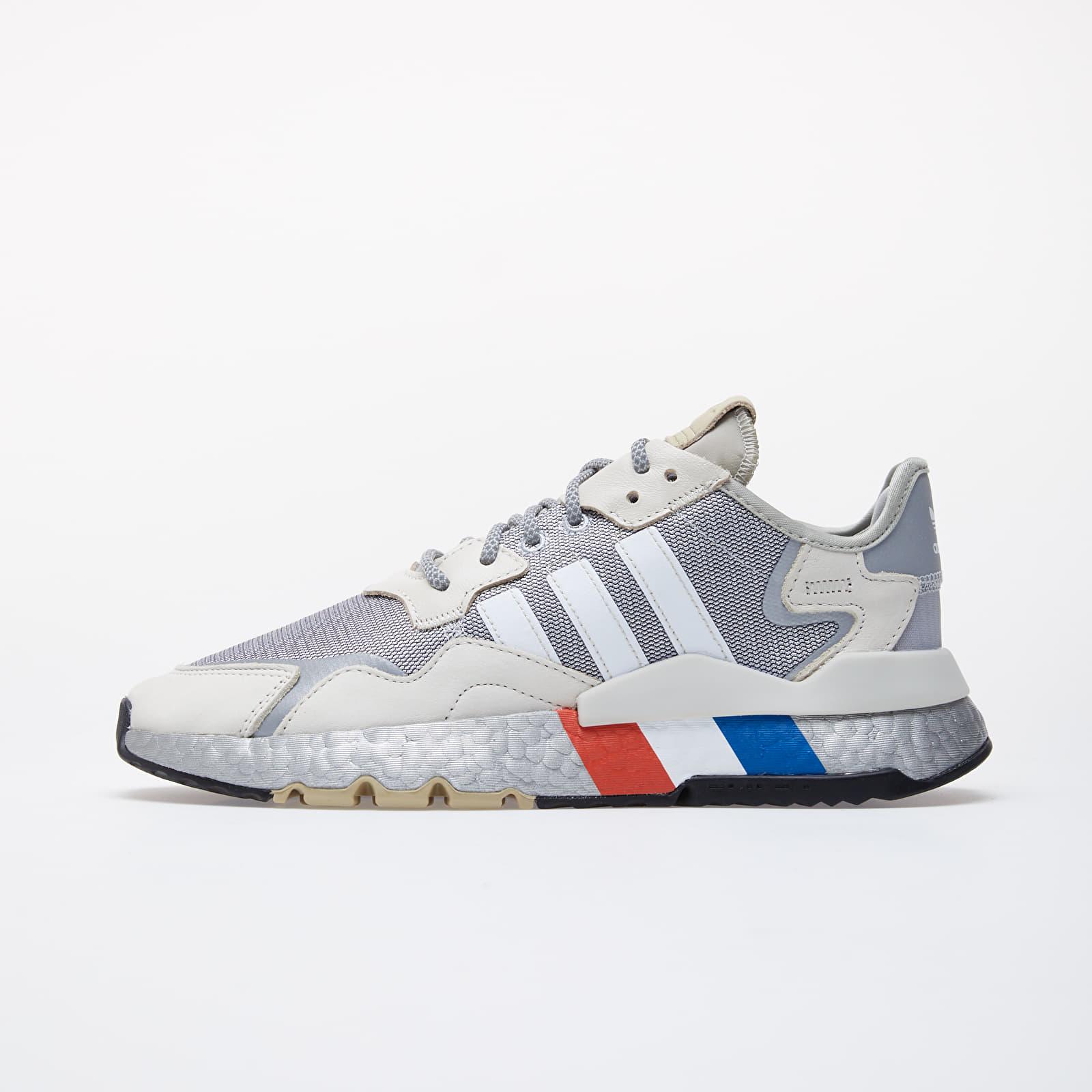Men's shoes adidas Nite Jogger Silver Metalic/ Ftw White/ Aluminium