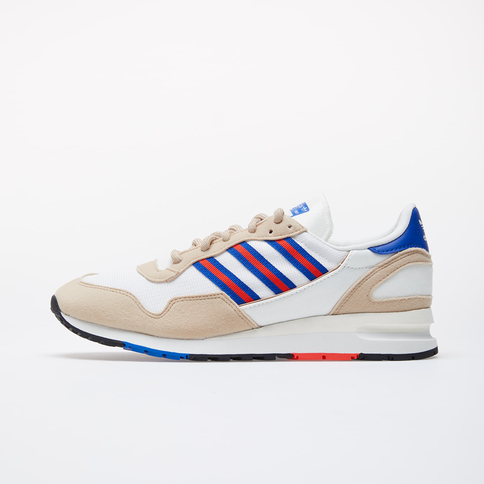 Men's shoes adidas Lowertree Off White/ Hi-Res Red/ Royal Blue