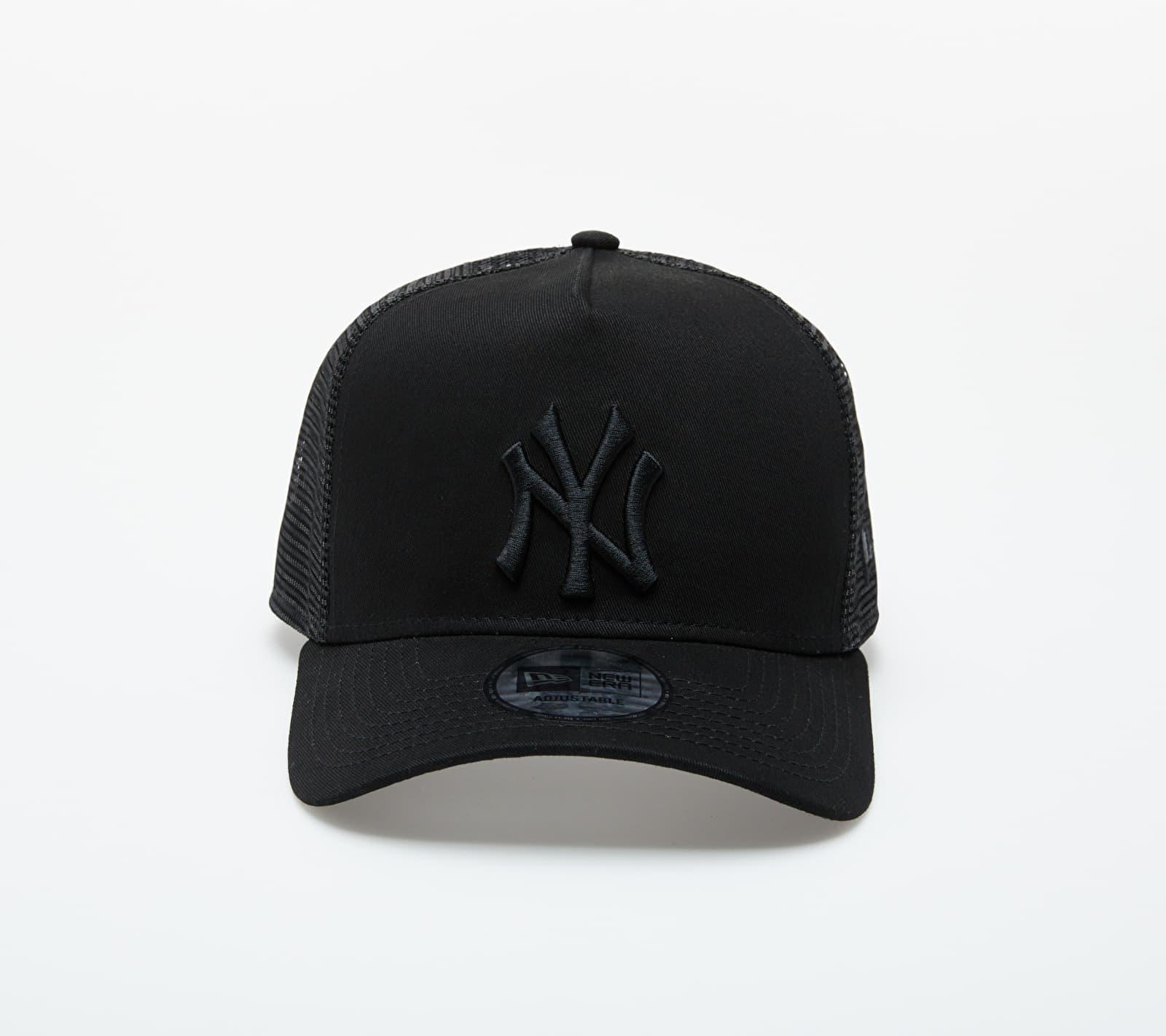 New Era MLB Clean New York Yankees Trucker Black univerzálna