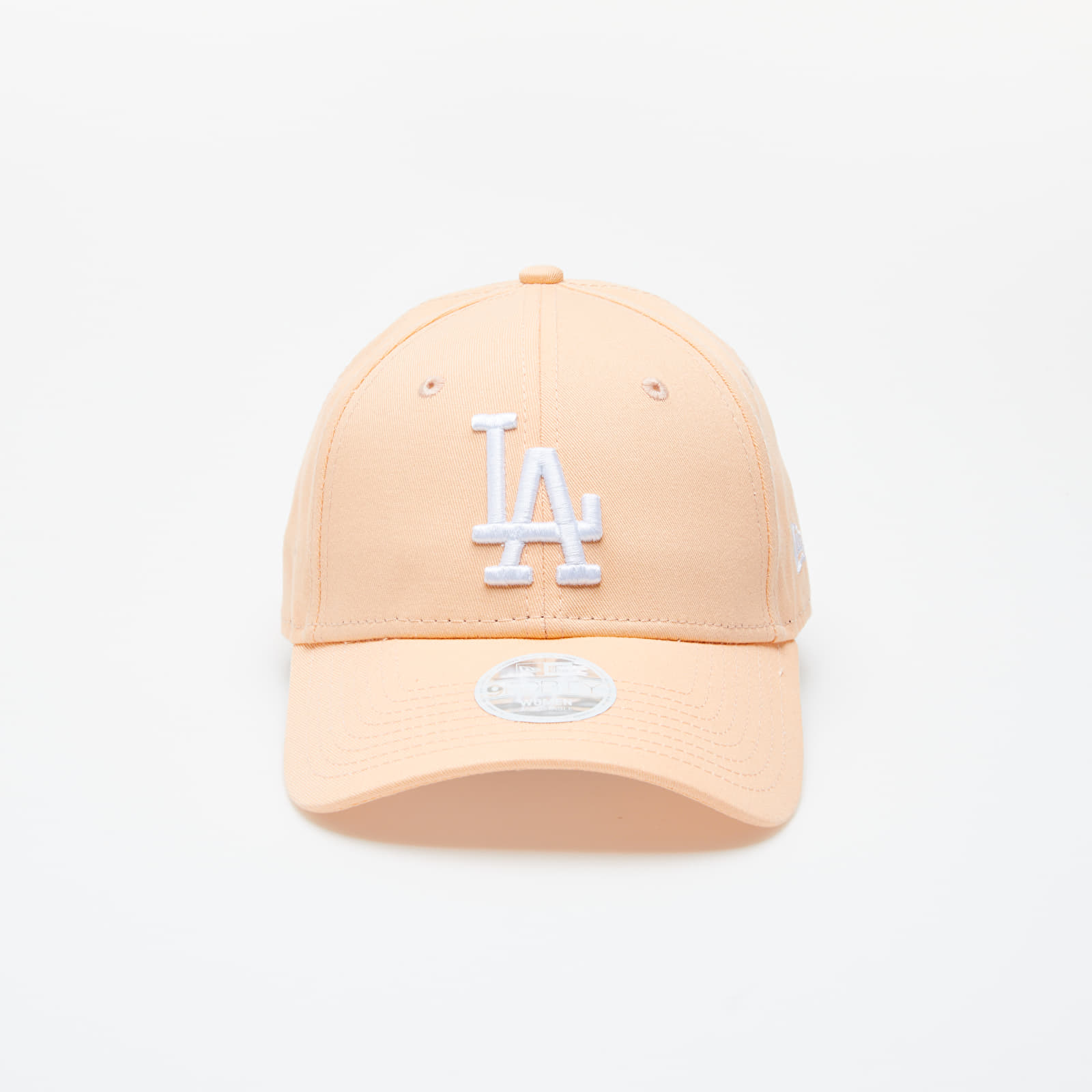 Caps New Era MLB League Essential Los Angeles Dodgers Women Cap Peach