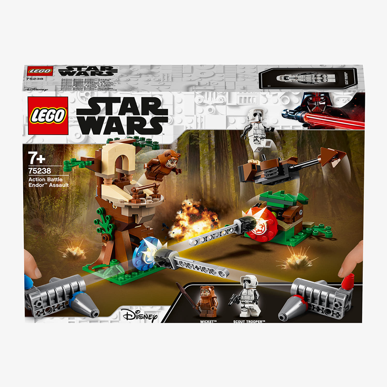 LEGO Star Wars Action Battle Endor Assault