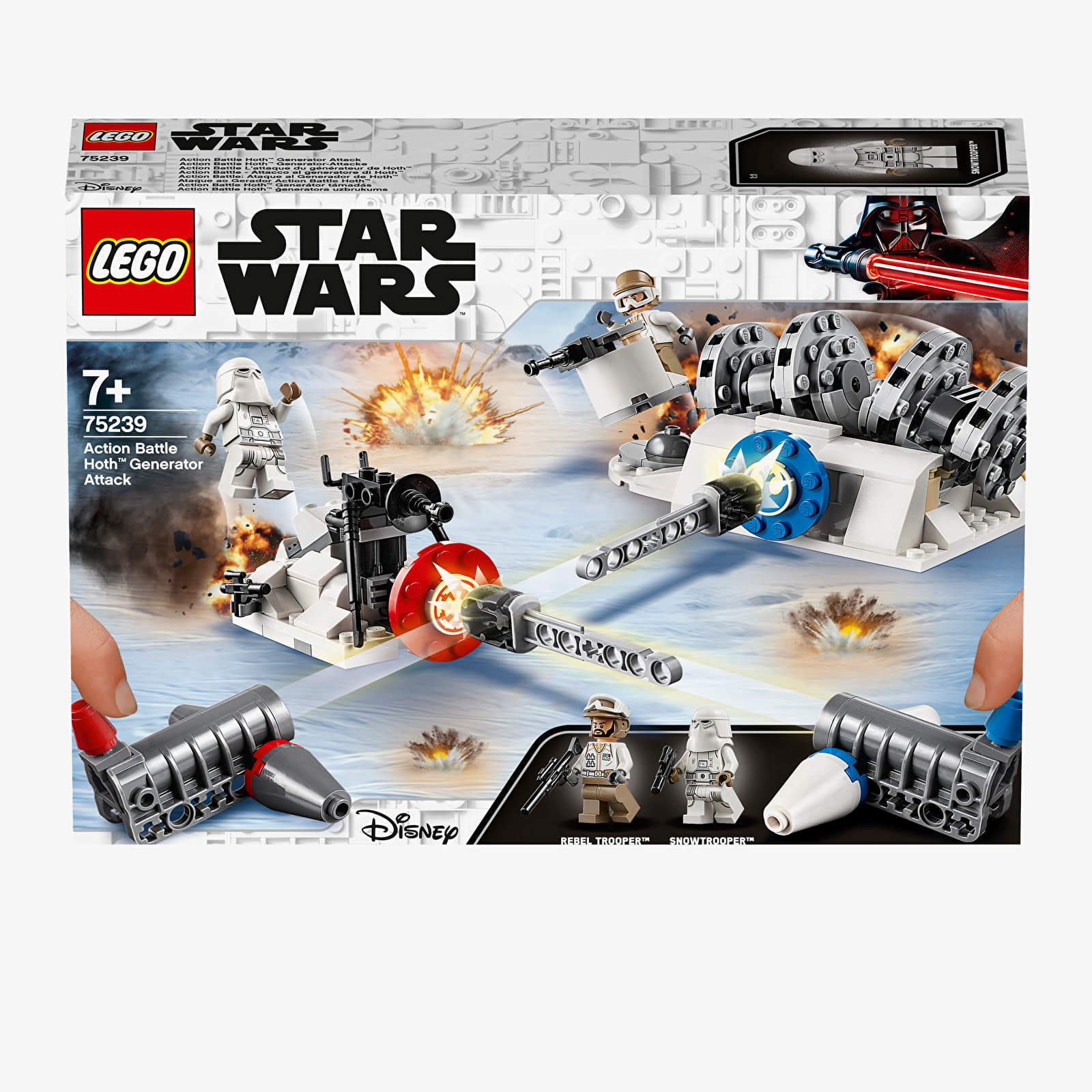 LEGO Star Wars Action Battle Hoth Generator Attack