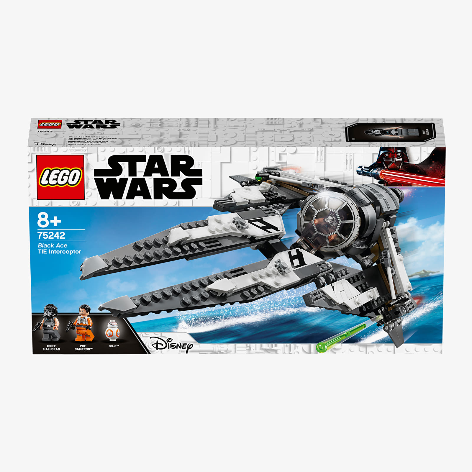 Kits de LEGO LEGO Star Wars Black Ace TIE Interceptor